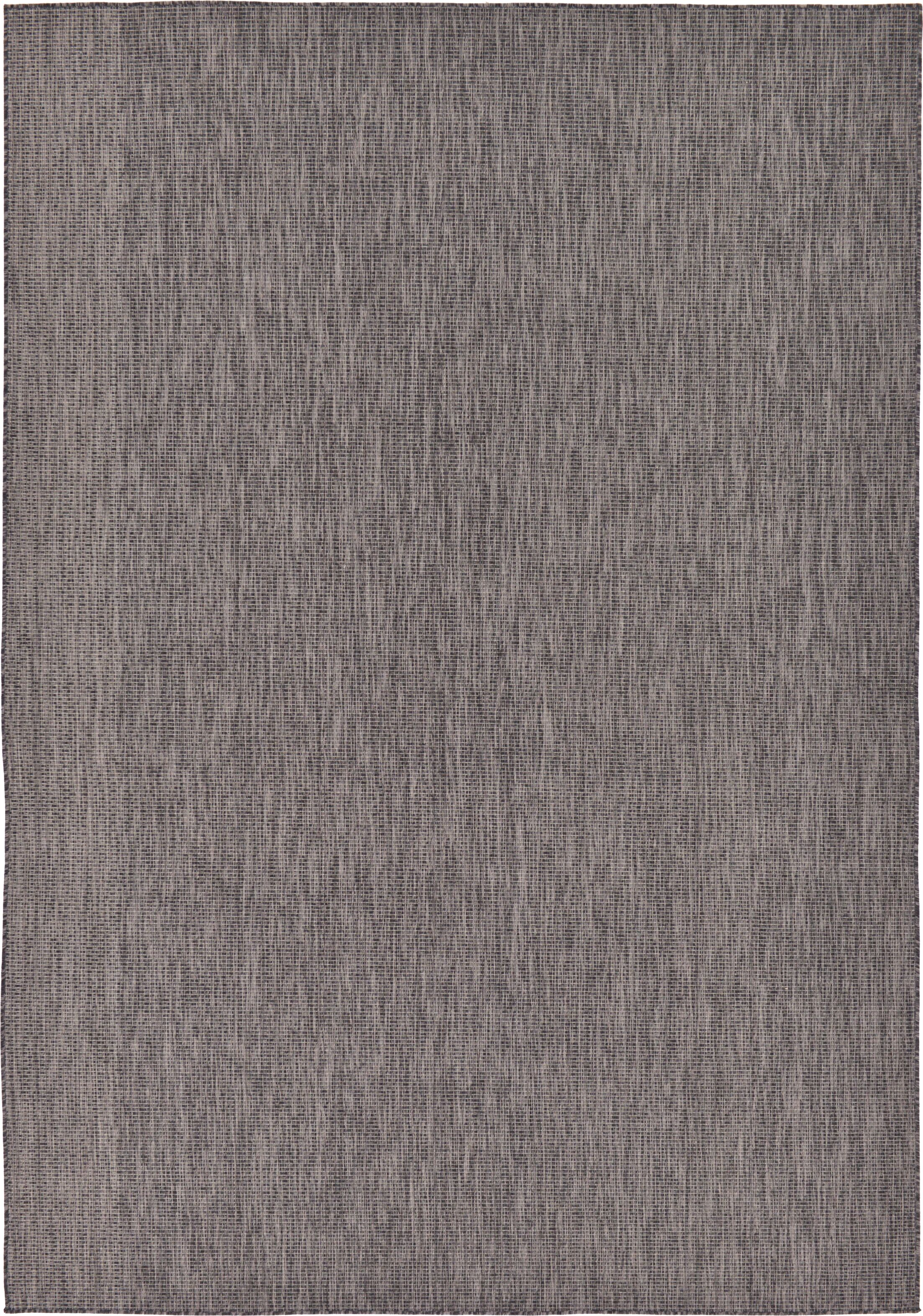 Janet Black Area Rug Rug Size: Rectangle 8' x 11'4