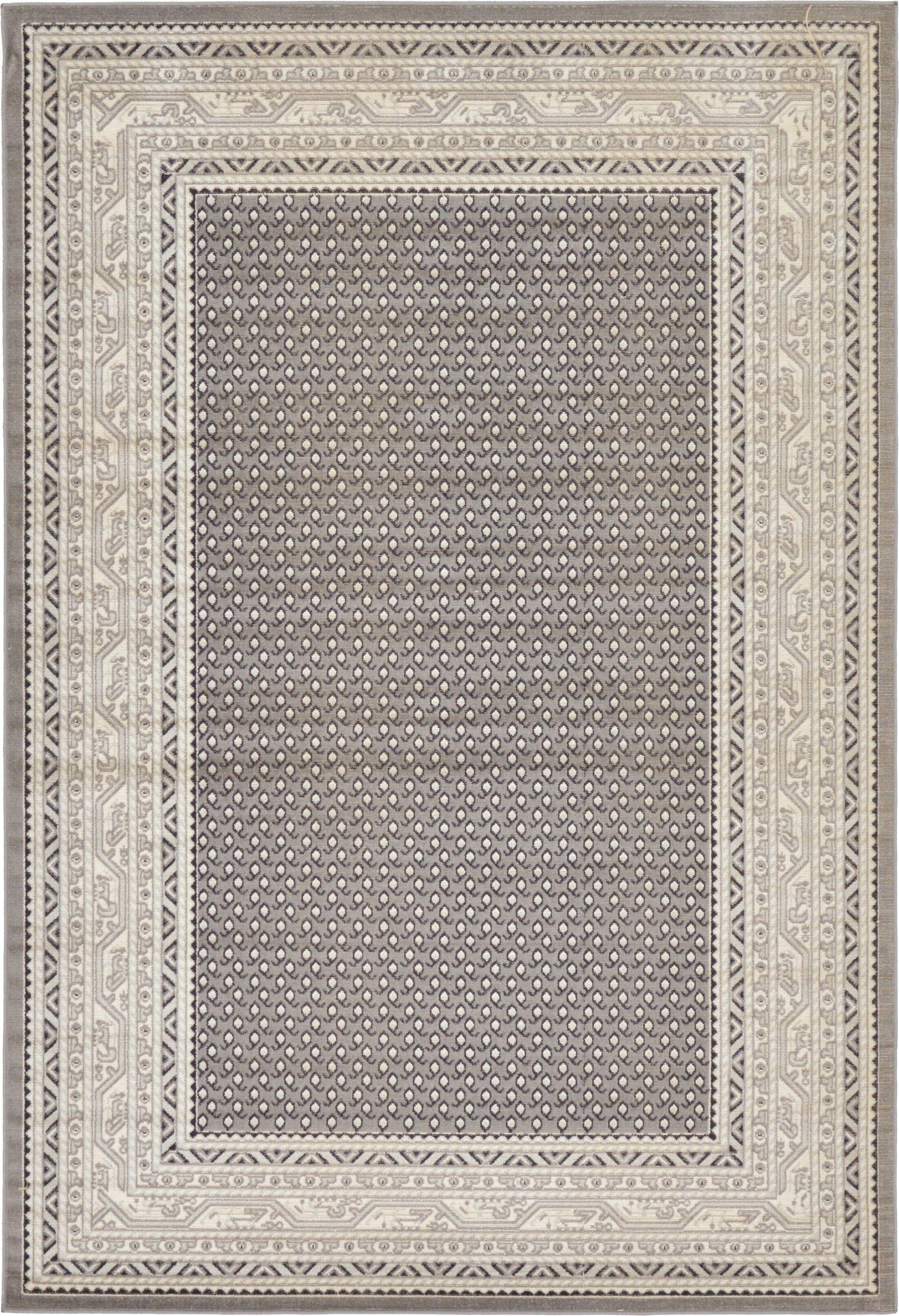 Gillam Gray Area Rug Rug Size: Rectangle 6' x 9'
