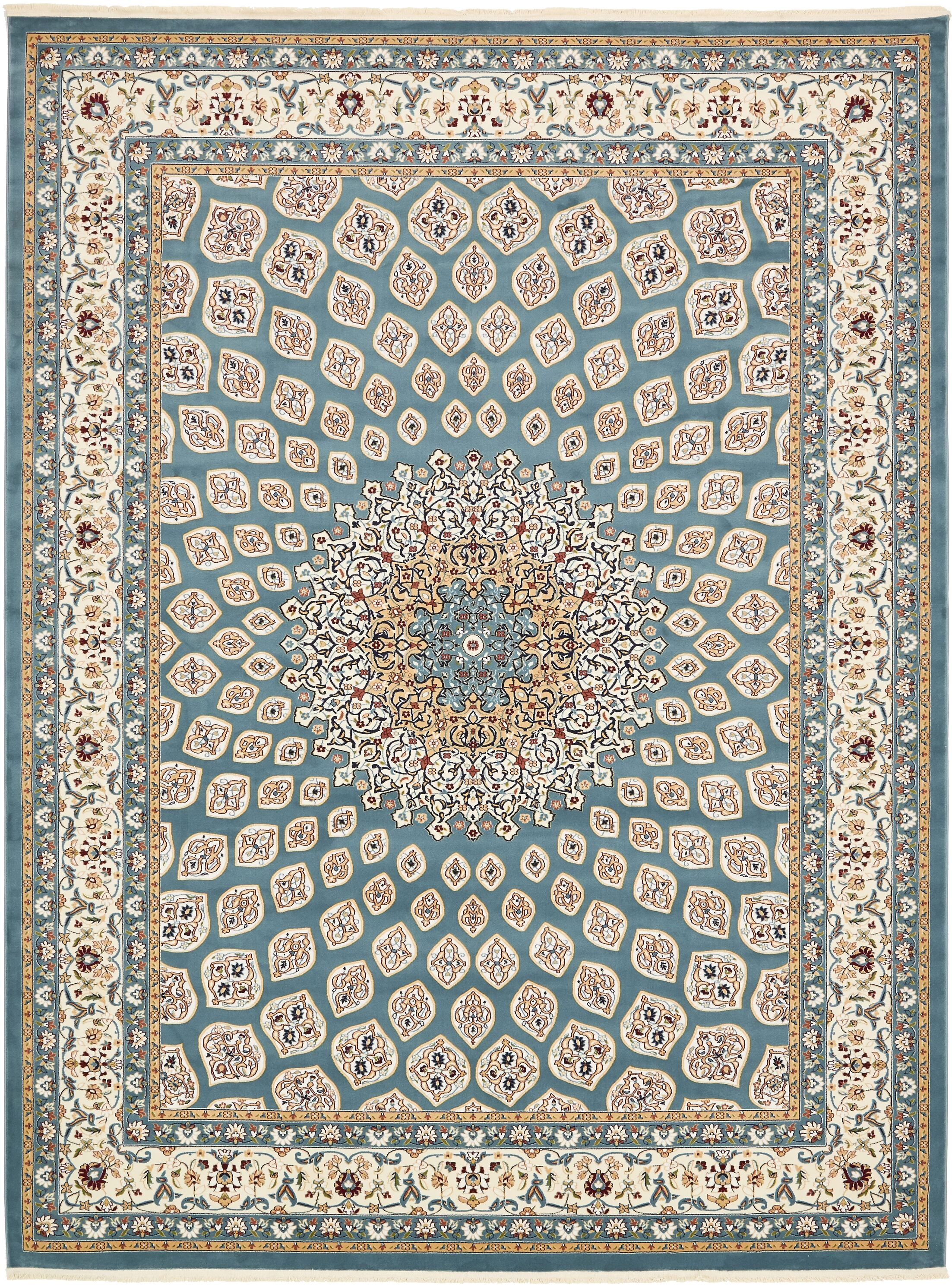 Jackson Blue Area Rug Rug Size: Rectangle 10' x 13'