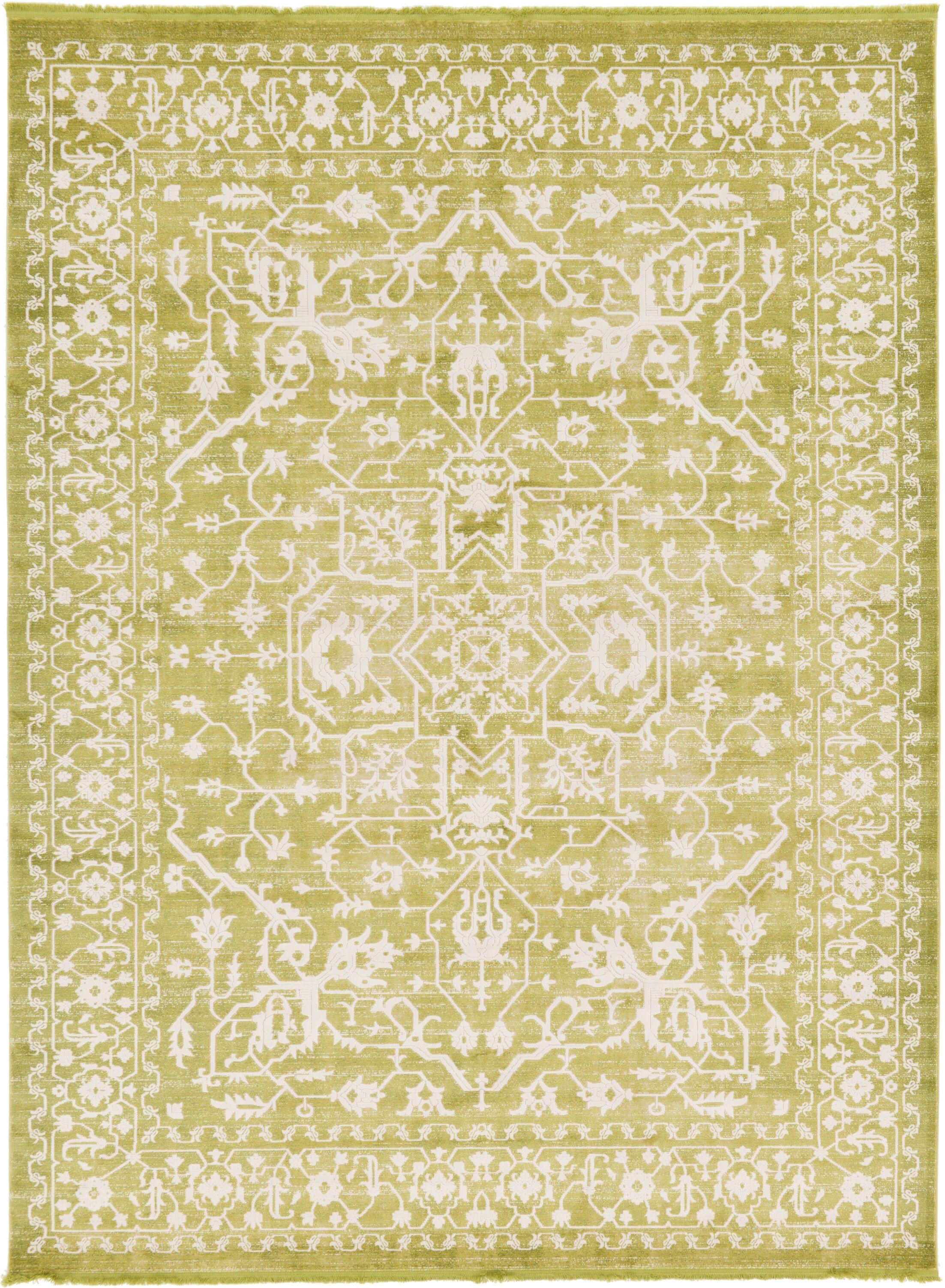 Bryant Tibetan Light Green Area Rug Rug Size: Rectangle 9' x 12'