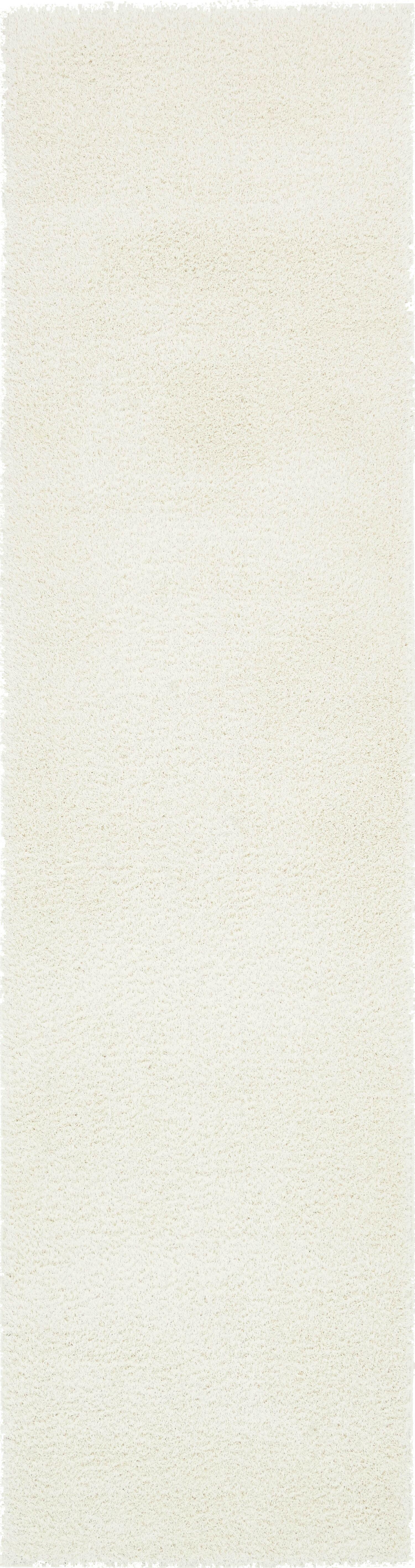 Kostka White Area Rug Rug Size: Runner 2'7