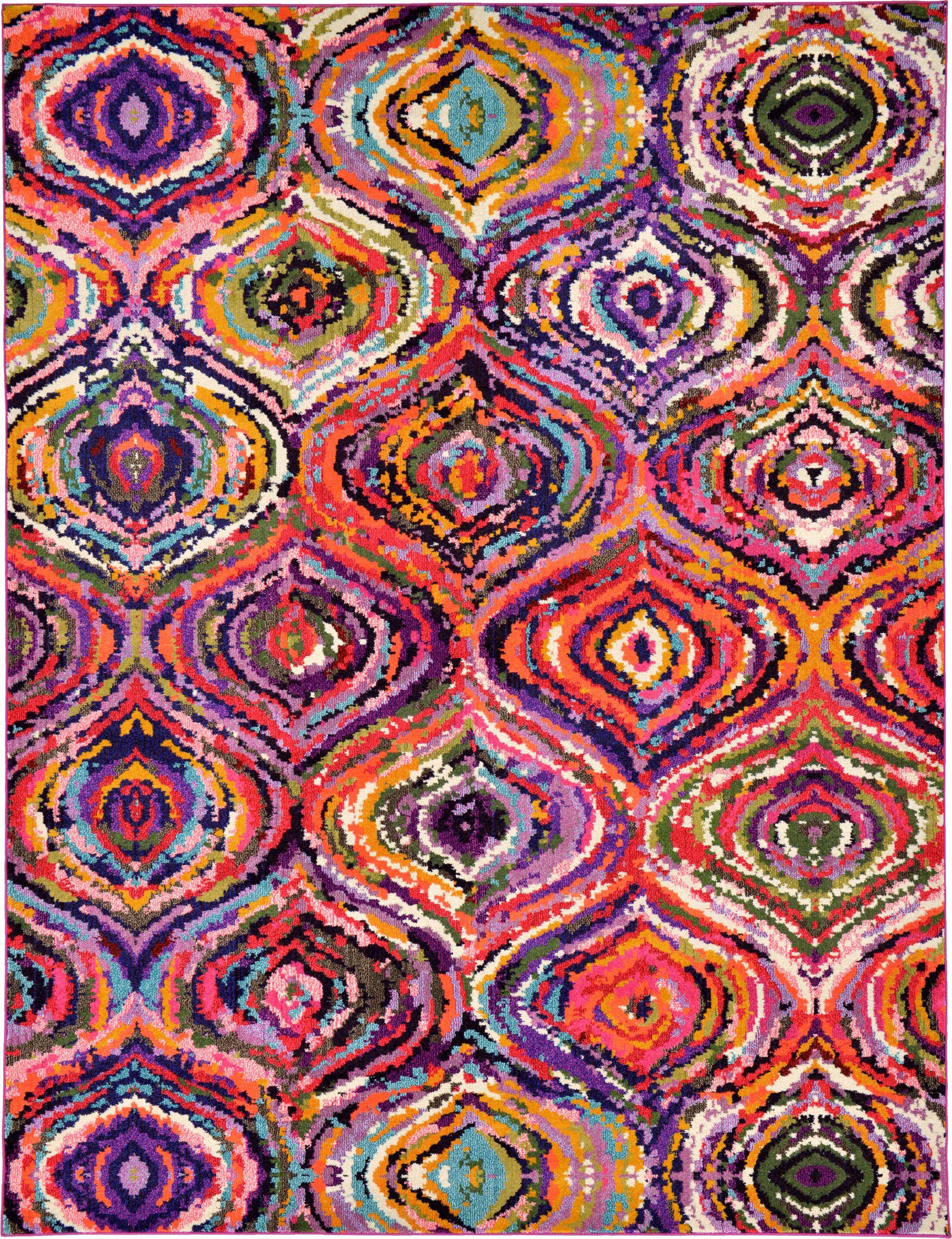 Roshan Multi Area Rug Rug Size: Rectangle 9' x 12'