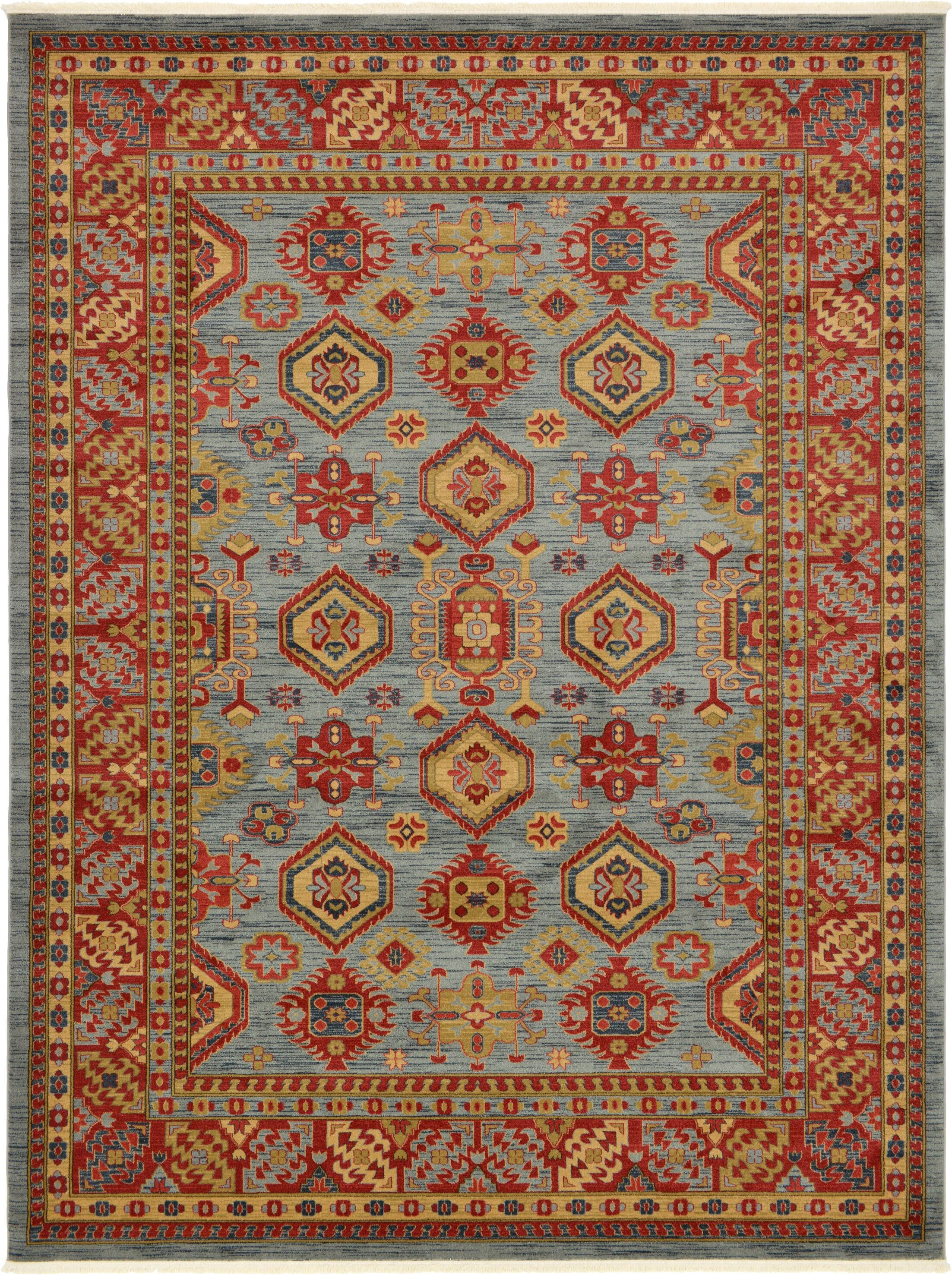 Valley Red Area Rug Rug Size: Rectangle 9'10