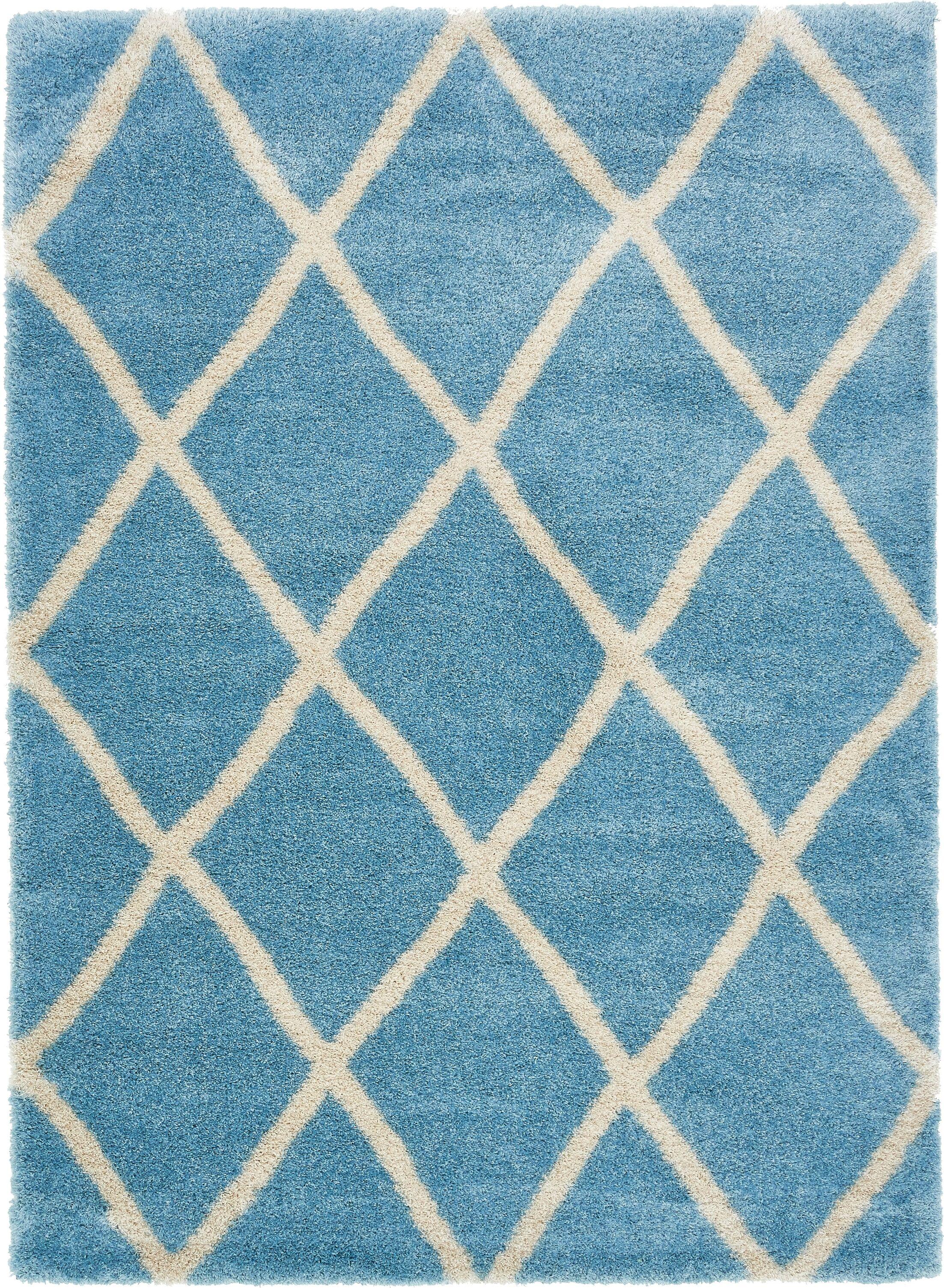 Southampton Light Blue Area Rug Rug Size: Rectangle 8' x 11'2