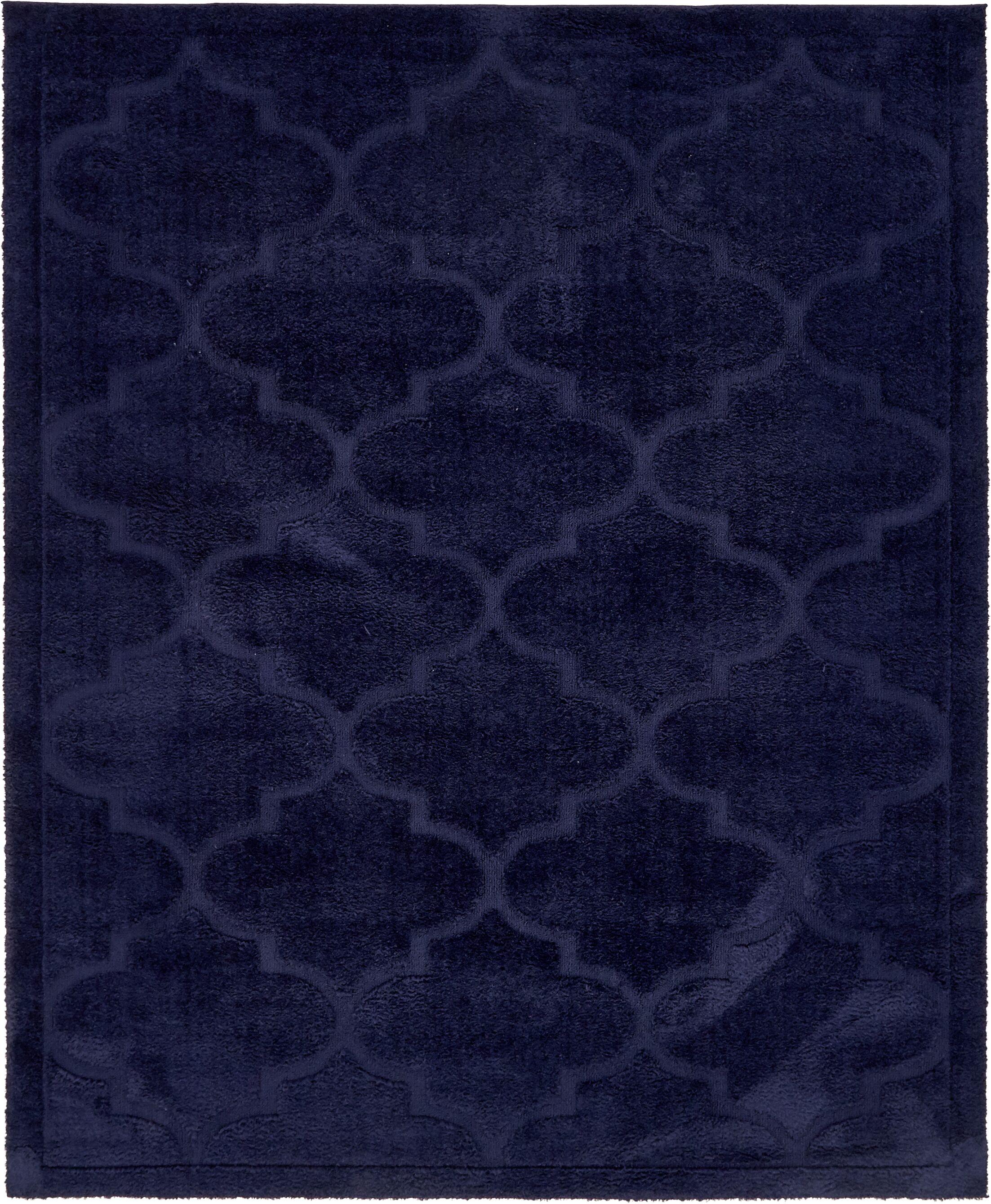 Millvale Navy Blue Area Rug Rug Size: Rectangle 8' x 10'