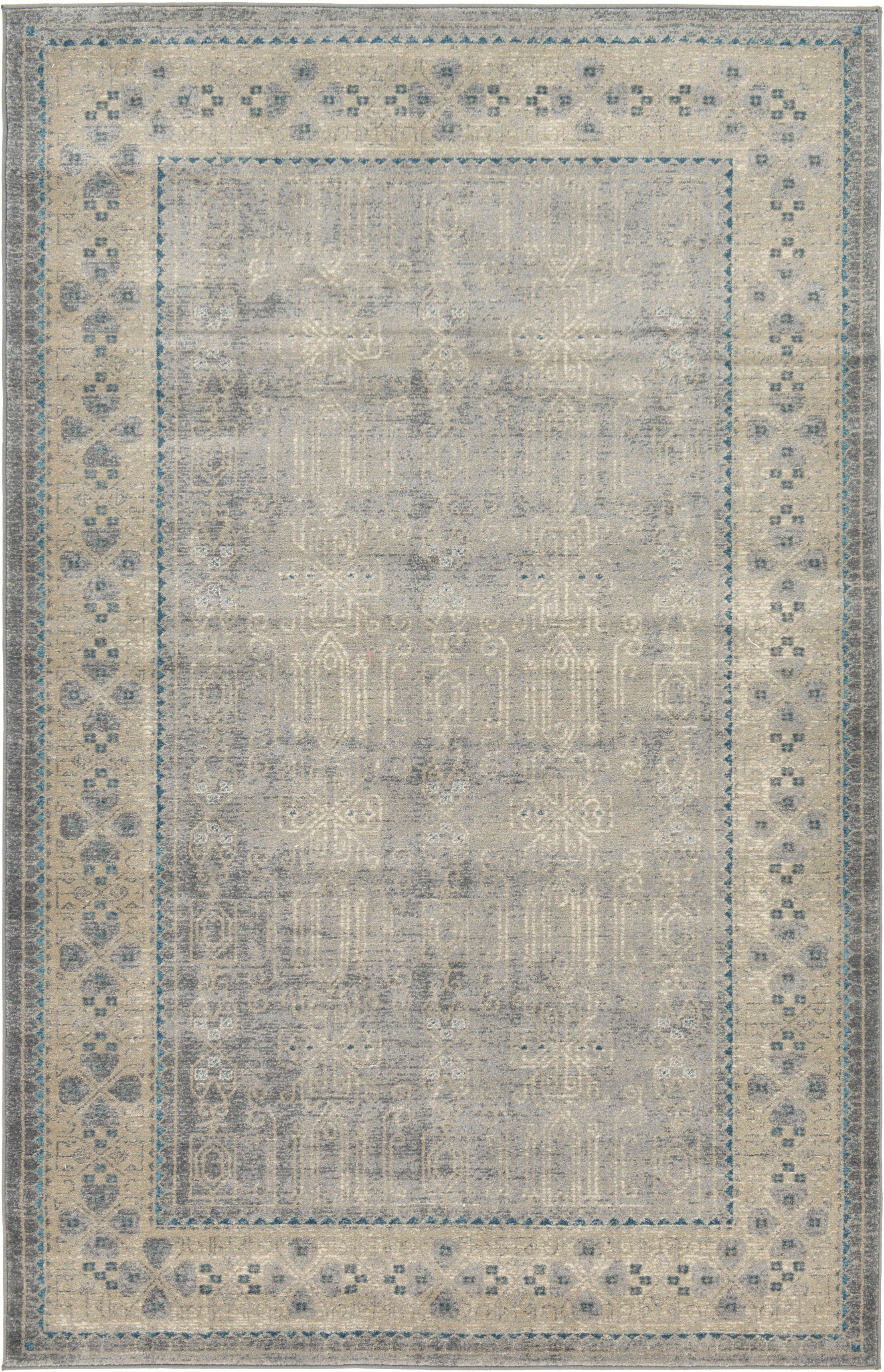 Brierfield Gray Area Rug Rug Size: Rectangle 5' x 8'