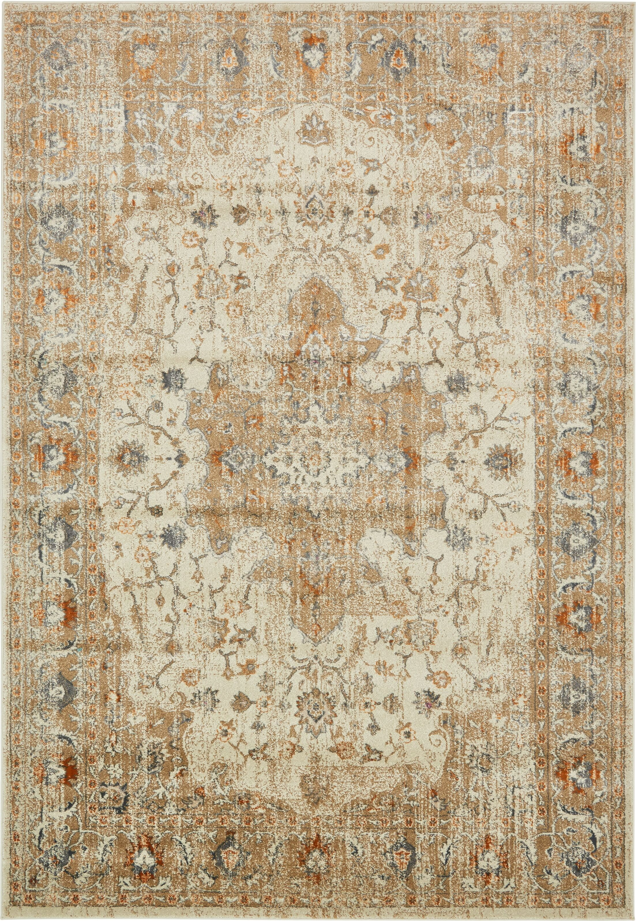 Sepe Beige Area Rug Rug Size: Rectangle 7' x 10'