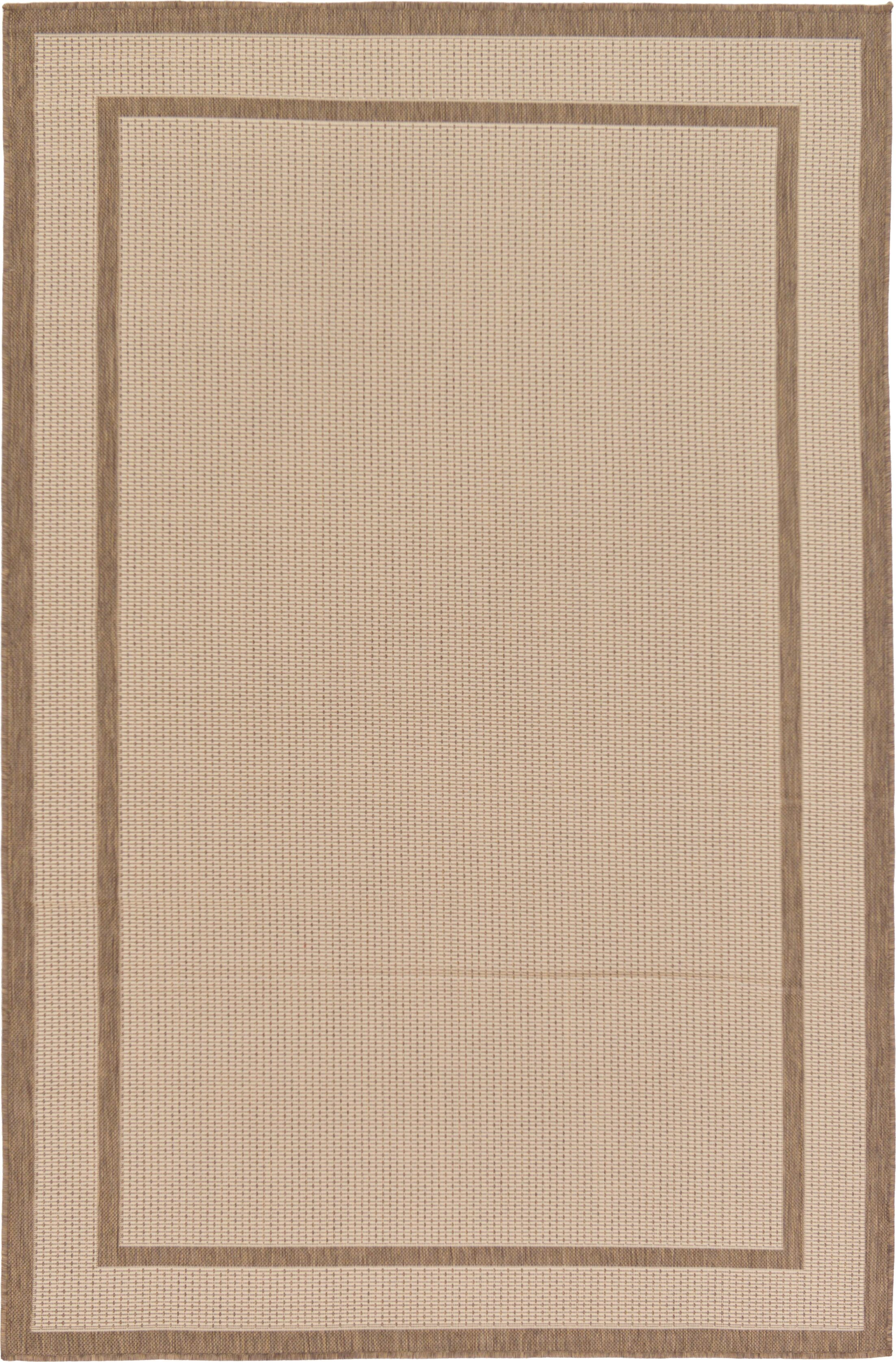 Storrs Beige Outdoor Area Rug Rug Size: Rectangle 8' x 11'4