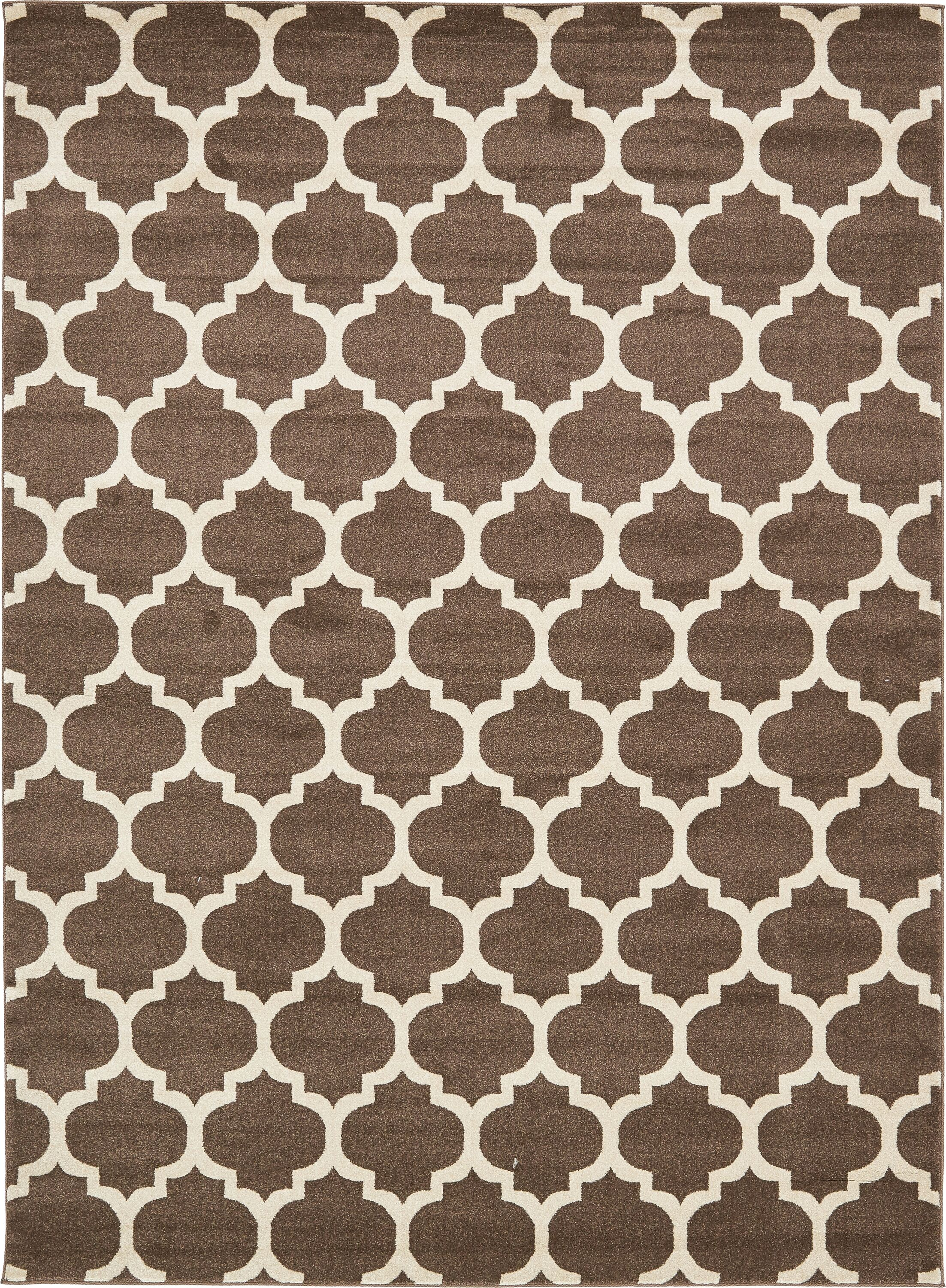 Moore Light Brown Area Rug Rug Size: Rectangle 8' x 11'