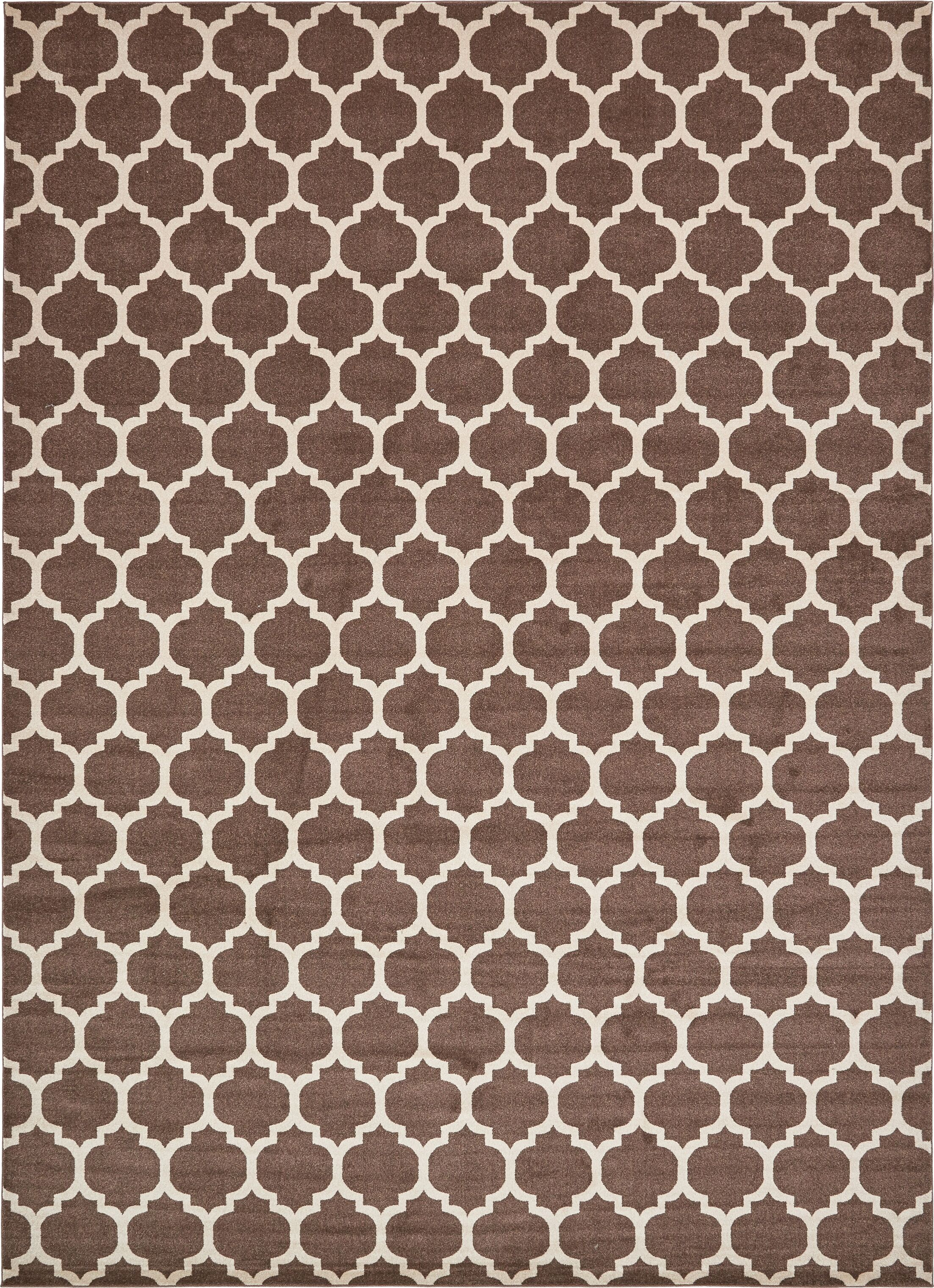 Moore Light Brown Area Rug Rug Size: Rectangle 13' x 18'