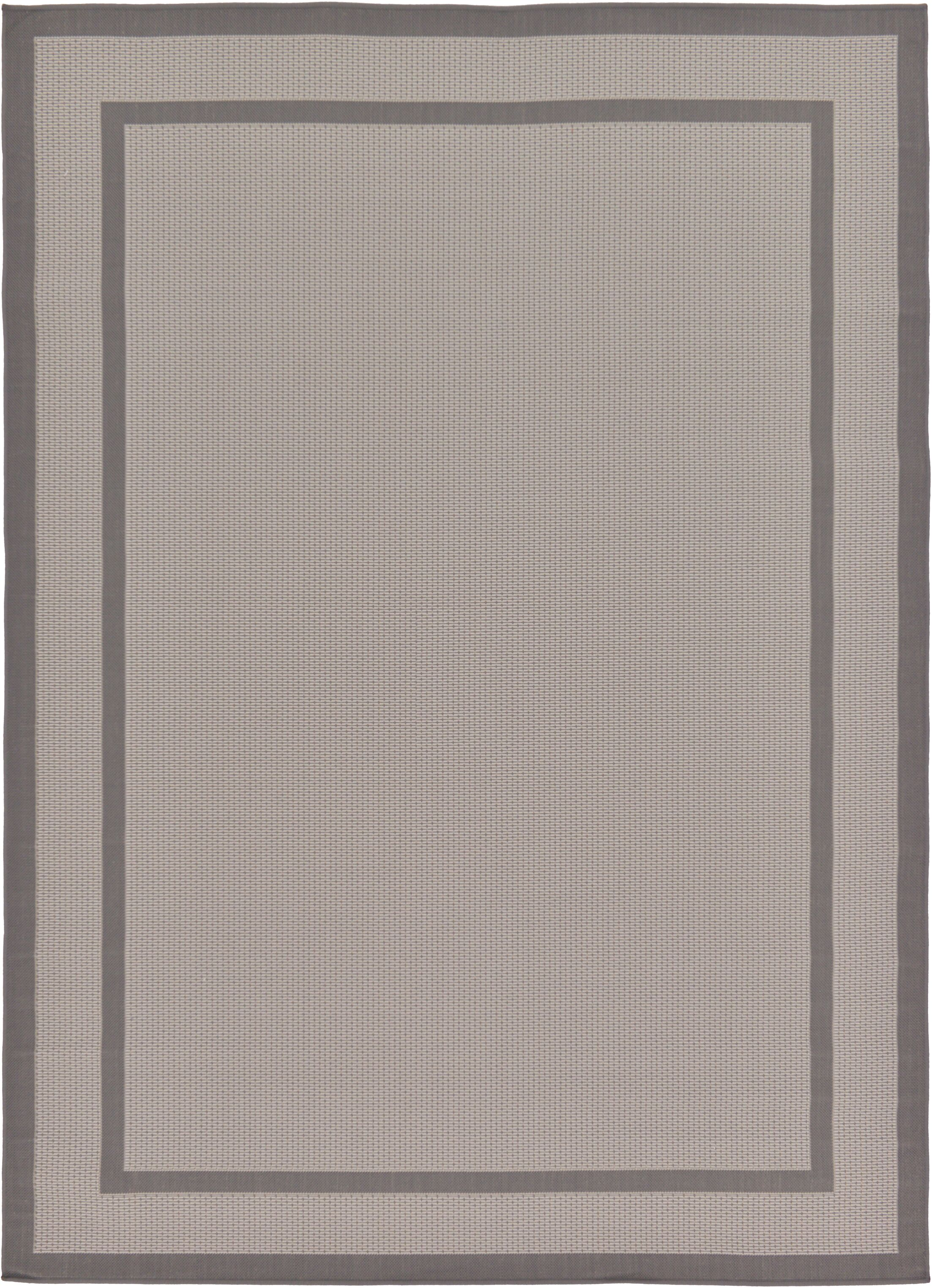 Marlborough Gray Outdoor Area Rug Rug Size: Rectangle 7' x 10'