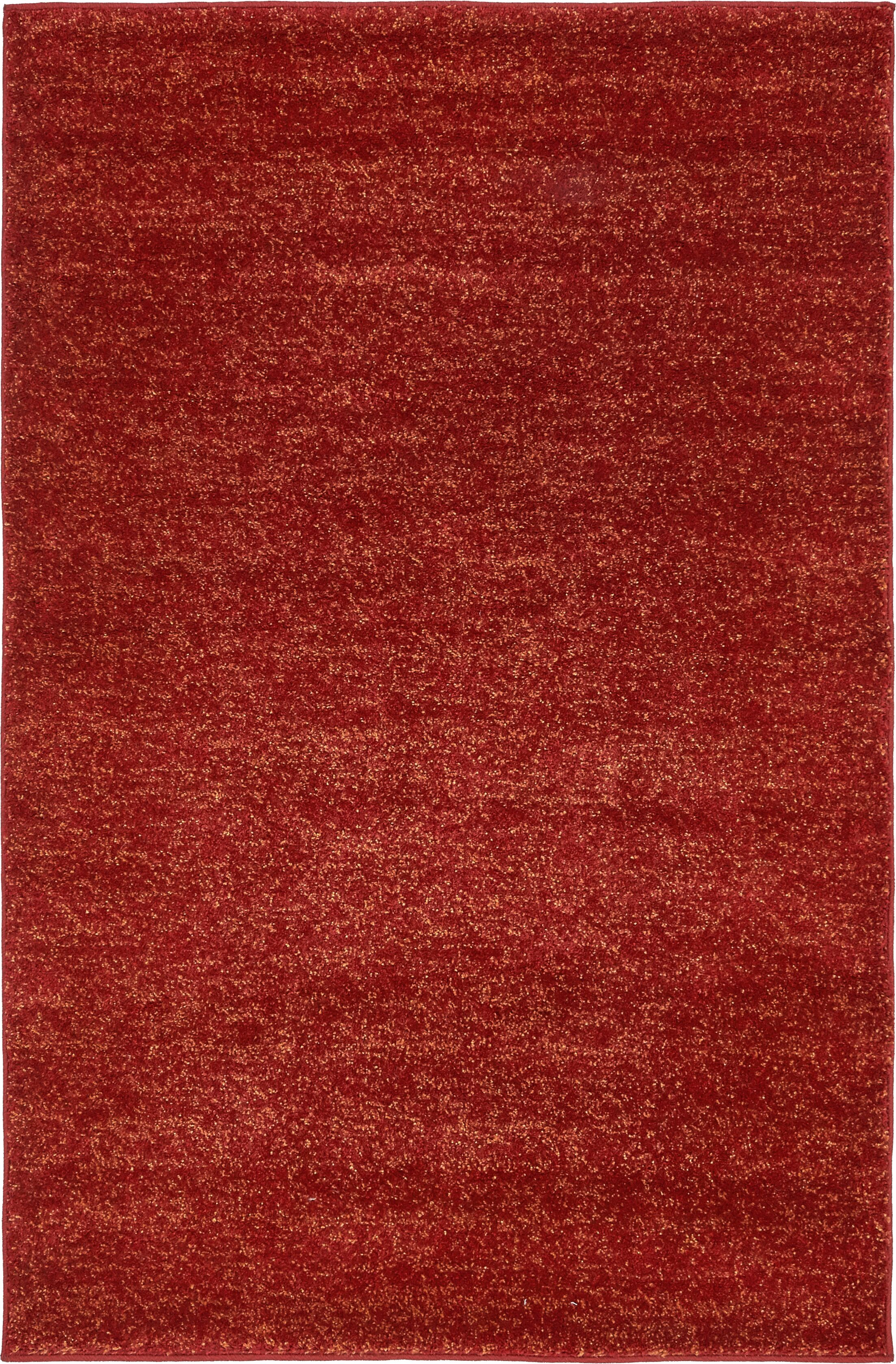 St Philips Marsh Red Area Rug Rug Size: Rectangle 4' x 6'