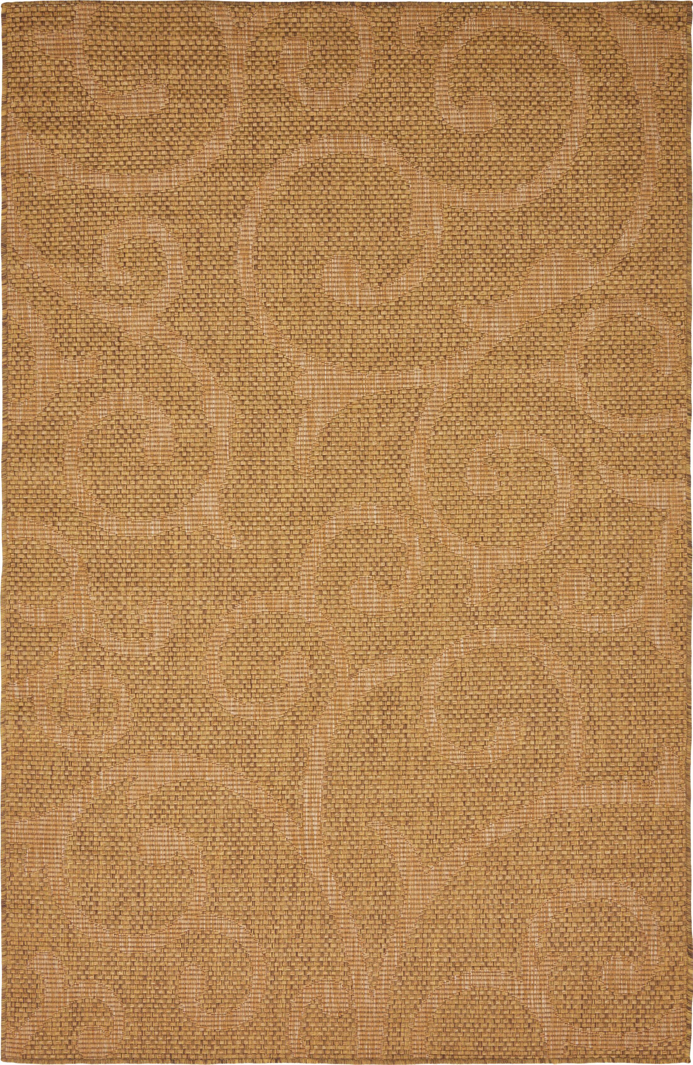 Kendari Brown Outdoor Area Rug Rug Size: Rectangle 5' x 8'