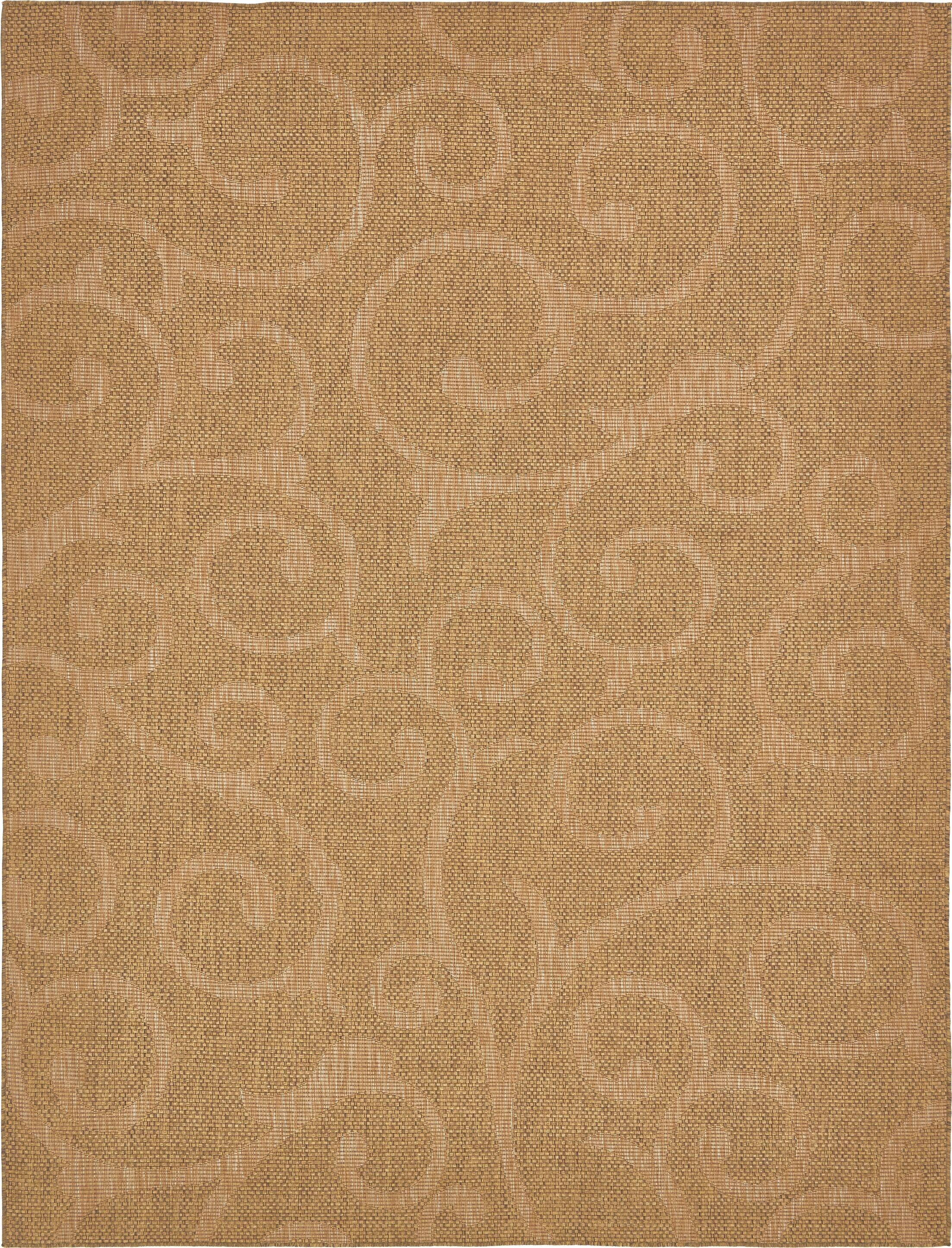 Kendari Brown Outdoor Area Rug Rug Size: Rectangle 9' x 12'
