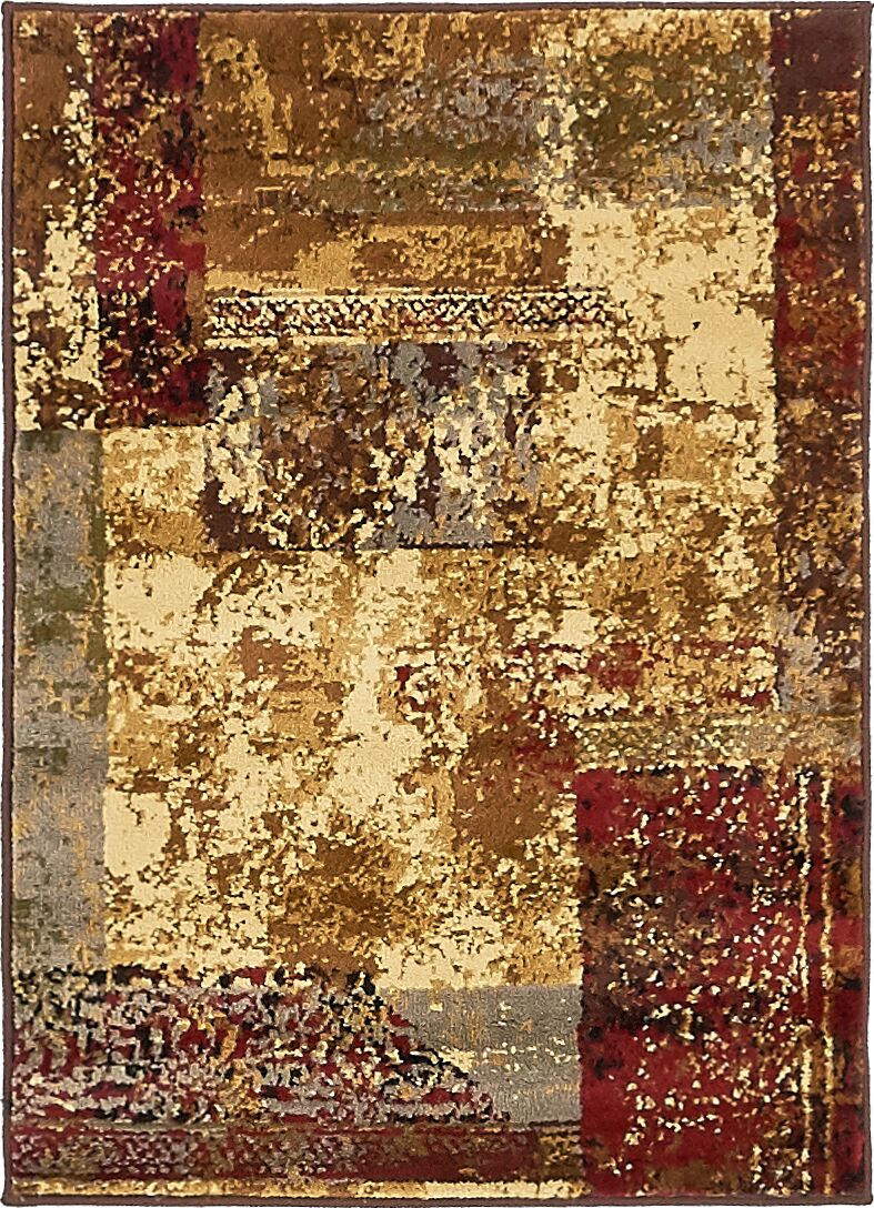 Apex Beige Area Rug Rug Size: Rectangle 2'2