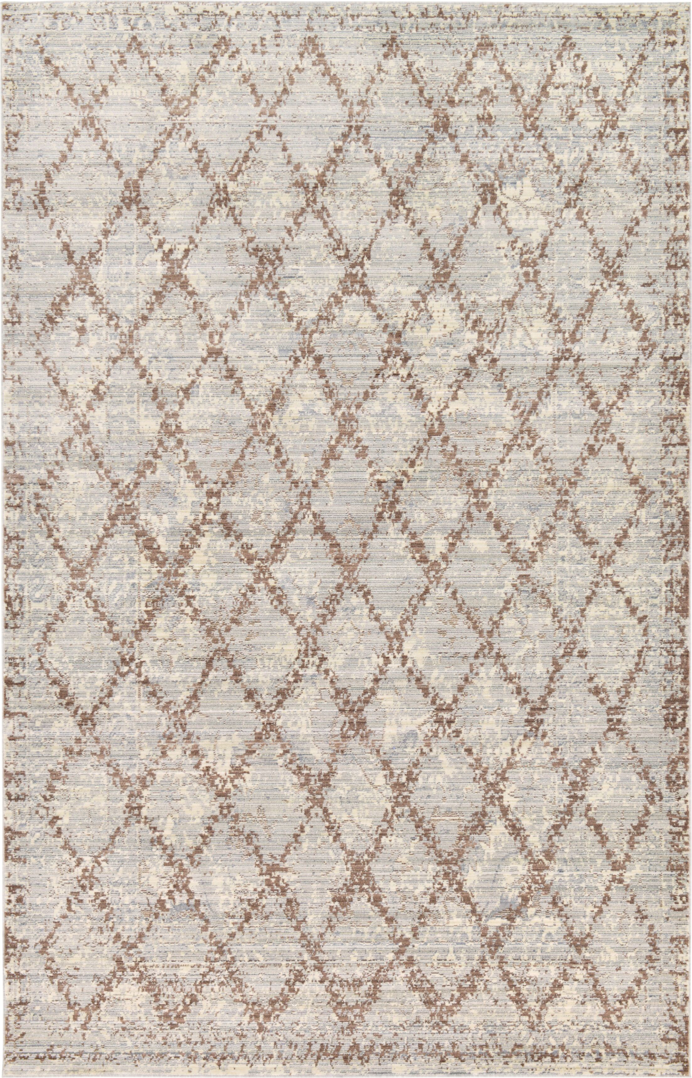 Karlee Gray Area Rug Rug Size: Rectangle 5' x 8'