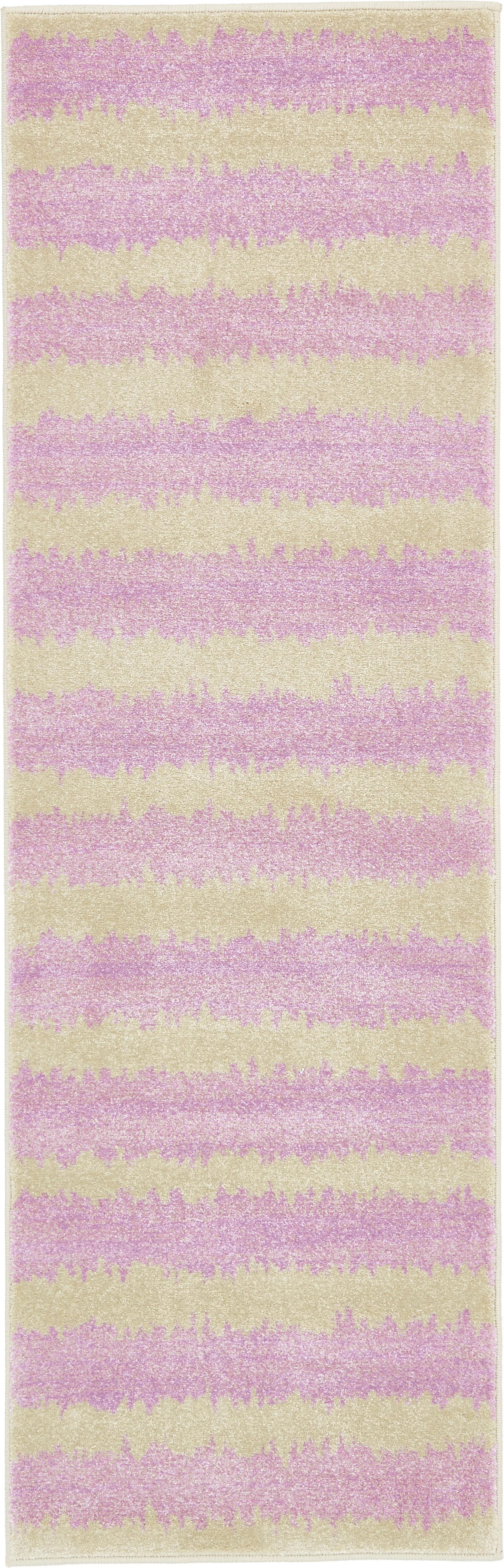 Kala Lavender Area Rug Rug Size: Runner 2' x 6'