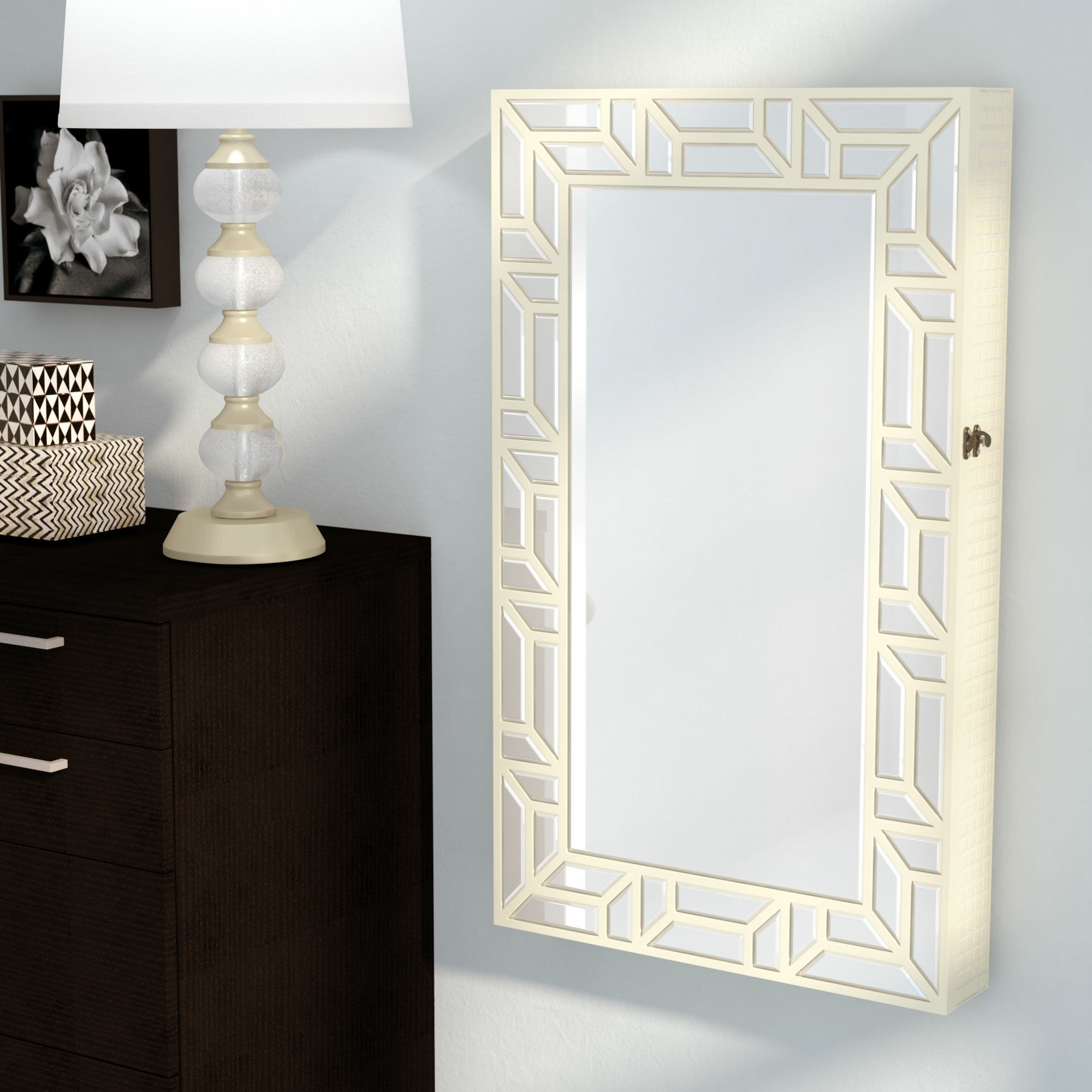 Earles Jewelry Armoire Color: Champagne