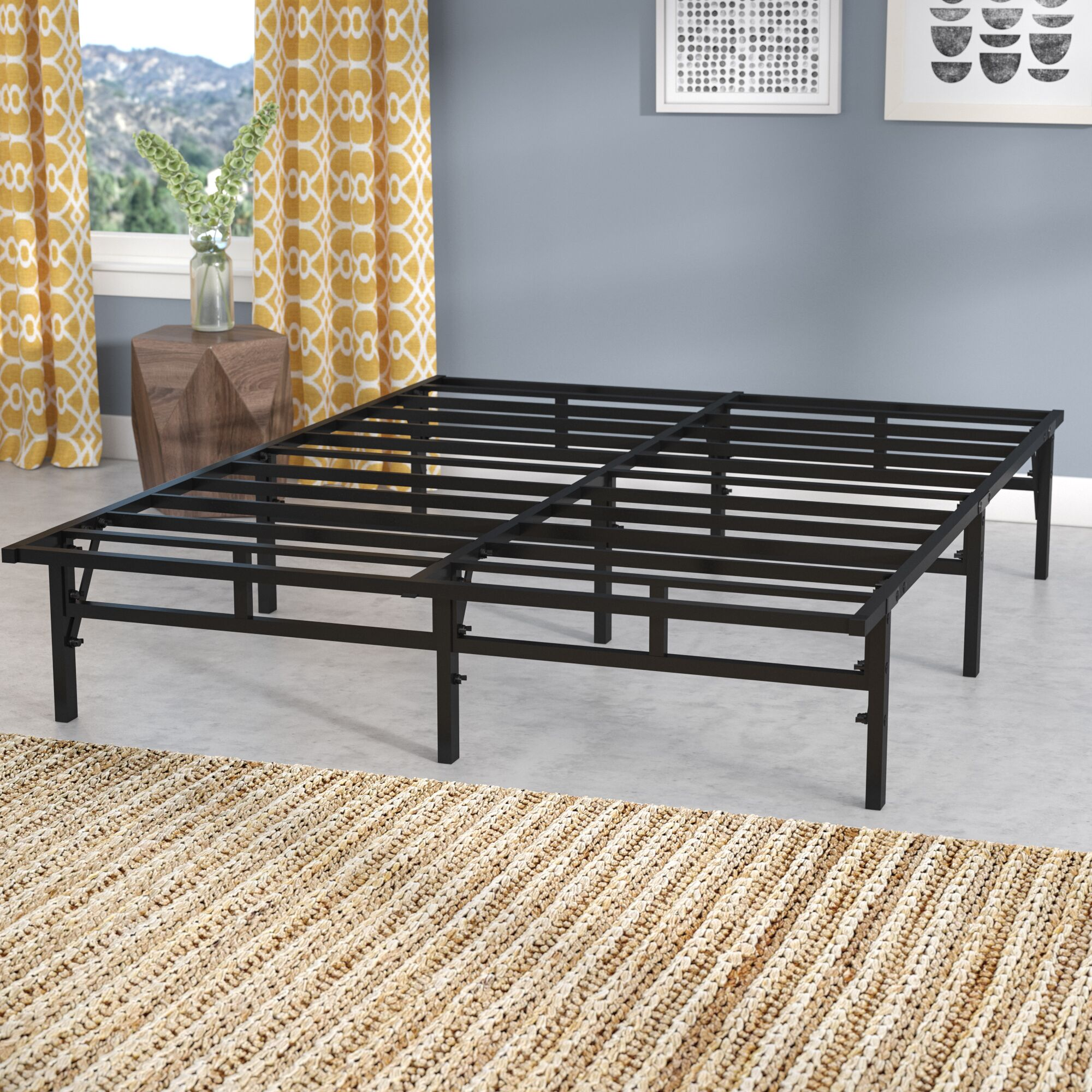 Platform Bed Frame Size: Queen