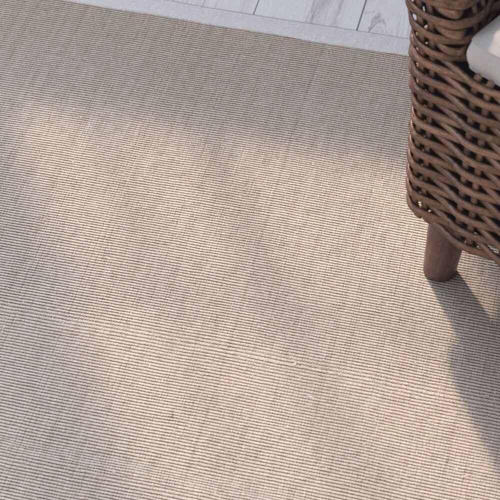 Camelia Hand-Woven White Area Rug Rug Size: Rectangle 9' x 12'