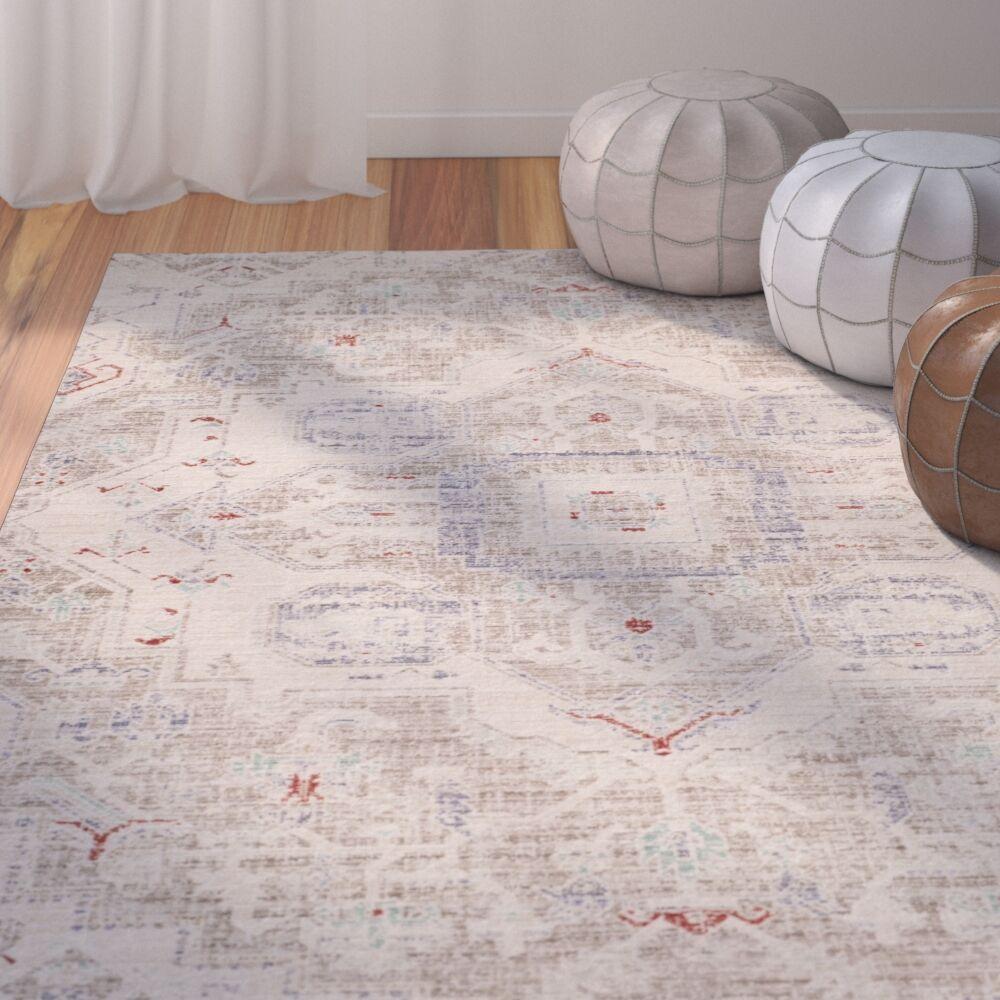 Chauncey Light Gray Area Rug Rug Size: Rectangle 3' x 12'