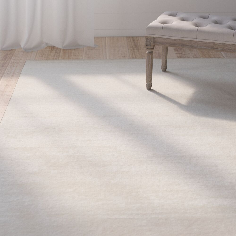 Oxendine Ivory Area Rug Rug Size: Rectangle 9' x 13'