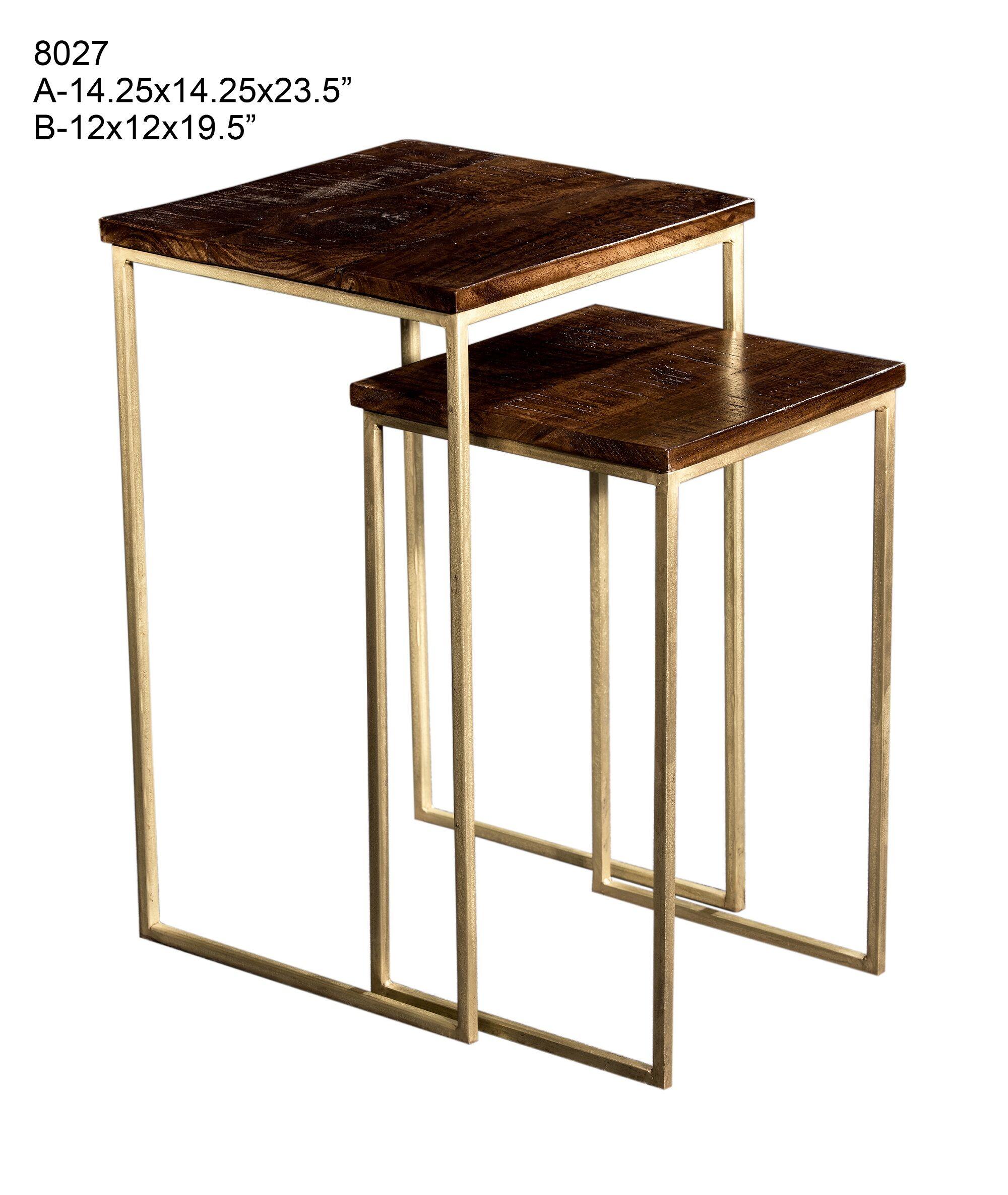 Eudora 2 Piece Nesting Tables