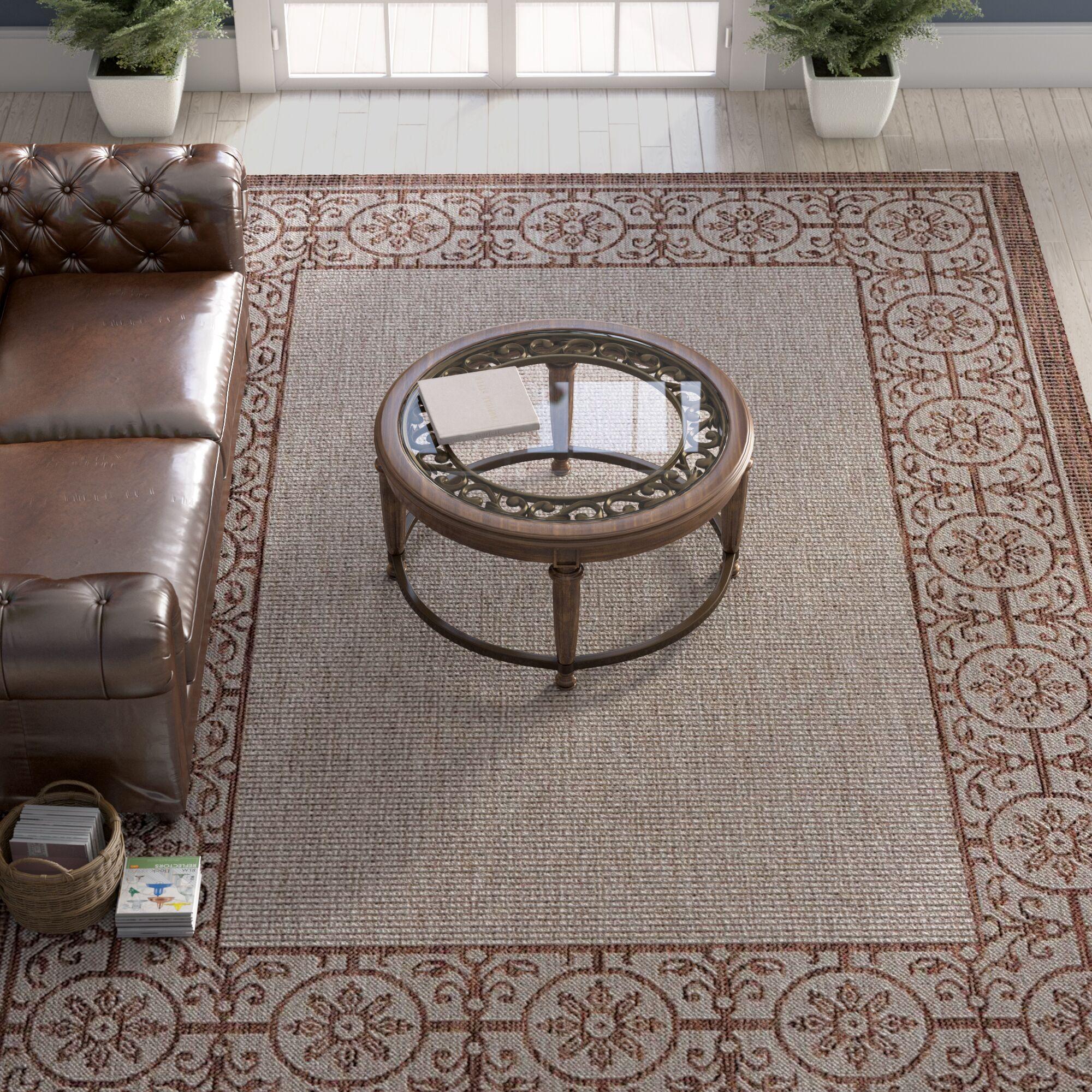 Cochrane Natural Indoor/Outdoor Area Rug Rug Size: Rectangle 9'6