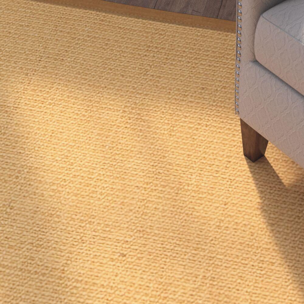 Buggs Hand Woven Brown Area Rug Rug Size: Rectangle 5' X 8'