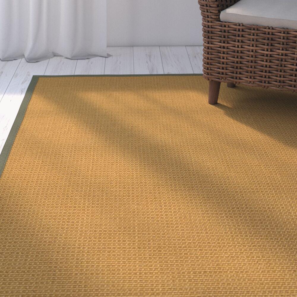 Coleridge Hand Woven Brown Area Rug Rug Size: Rectangle 5' X 8'