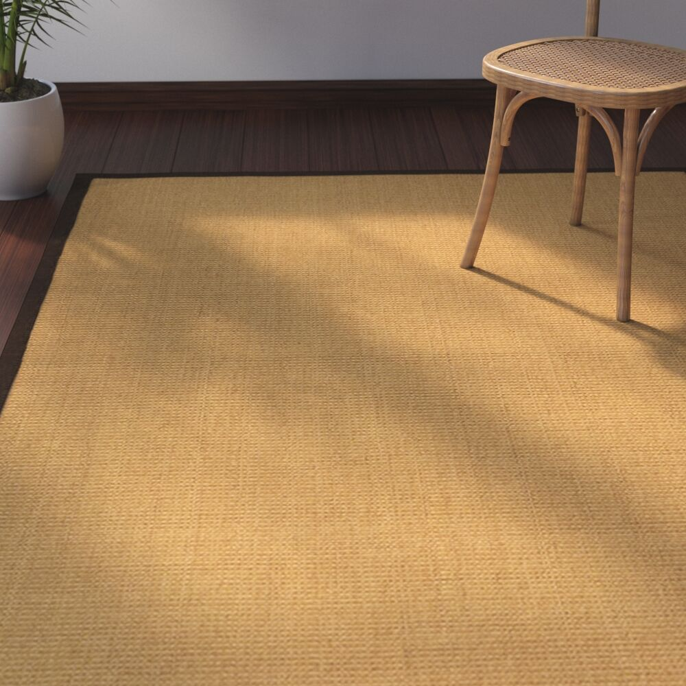 Dover Hand-Woven Brown/Fudge Area Rug Rug Size: Rectangle 8' x 10'