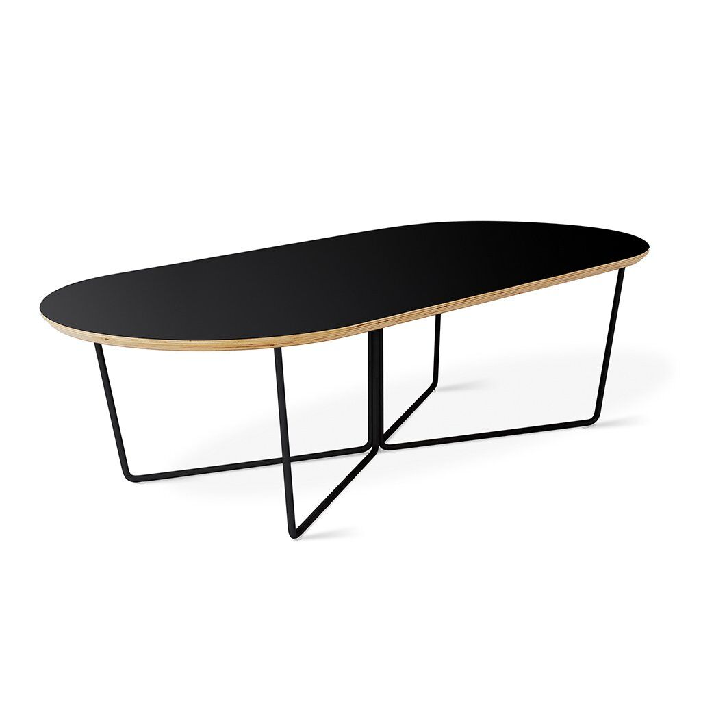 Array Coffee Table Color: Black