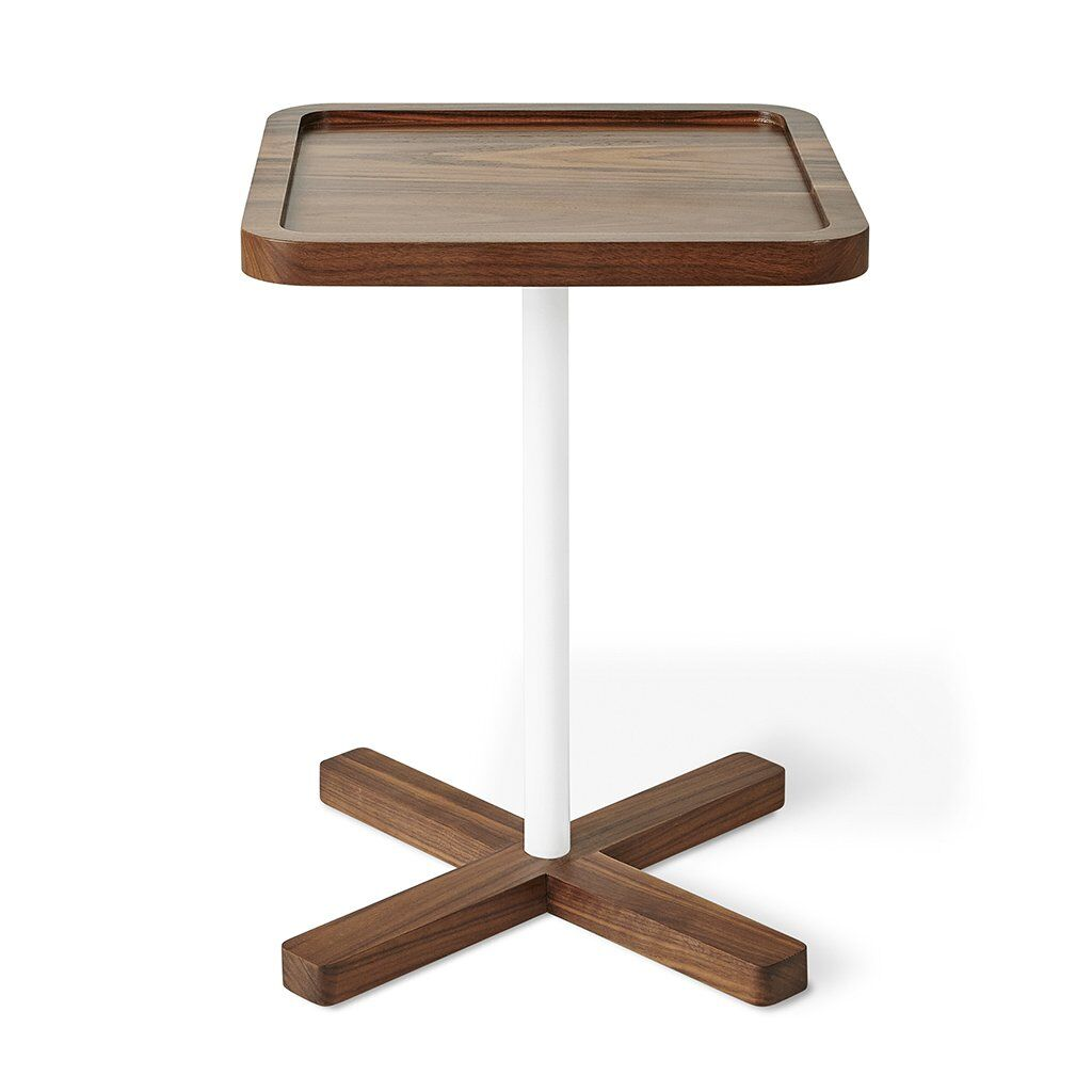 Axis End Table Color: Walnut