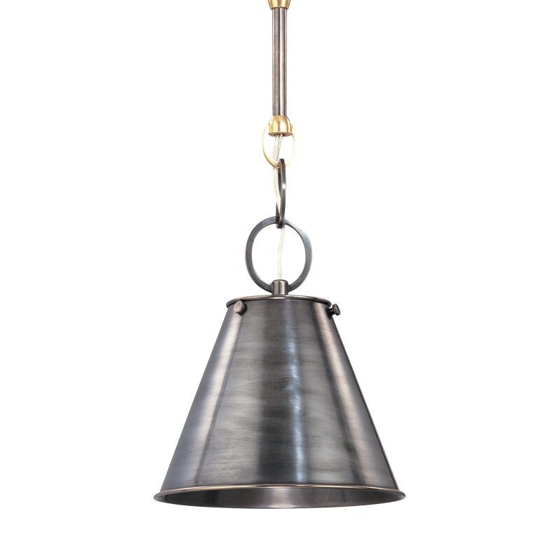 Molly Metal 1-Light Cone Pendant Finish: Polished Nickel