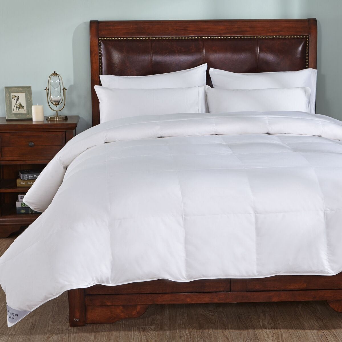 Warmth Goose Midweight Down Comforter Size: King