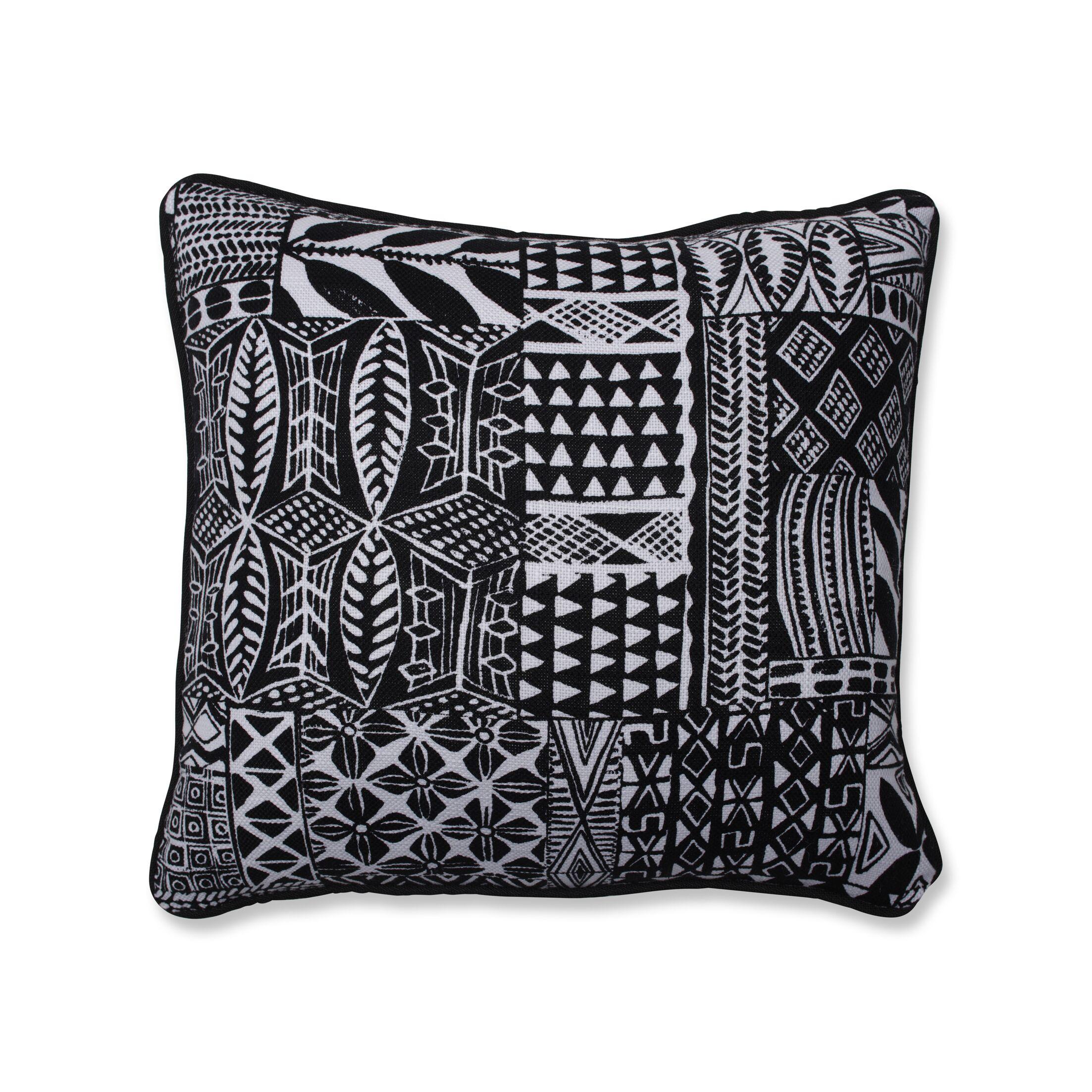 Monserrat Throw Pillow Size: 16.5