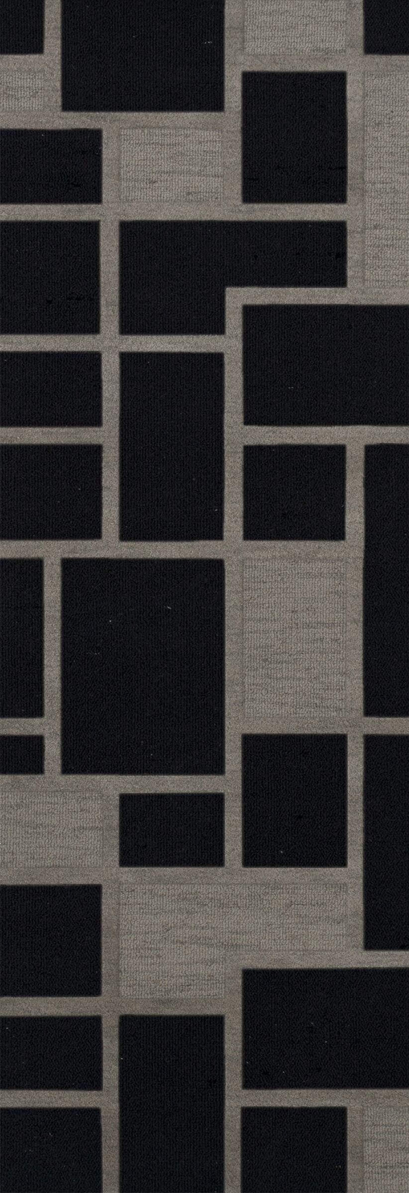 Haledon Wool Blackstone Area Rug Rug Size: Runner 2'6