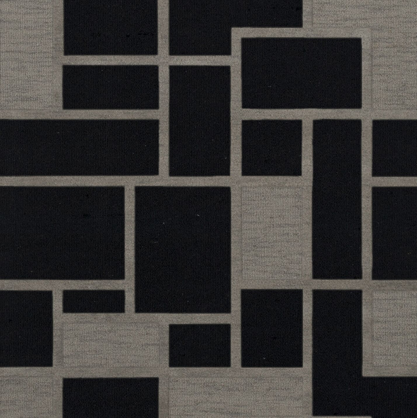 Haledon Wool Blackstone Area Rug Rug Size: Square 8'