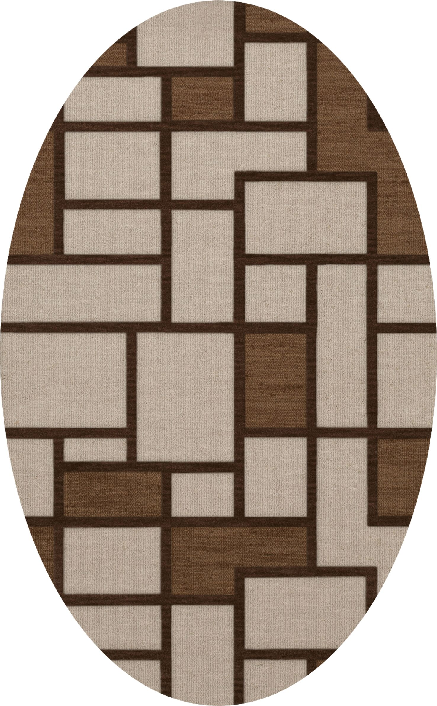 Halford Wool Earth Area Rug Rug Size: Rectangle 12' x 18'
