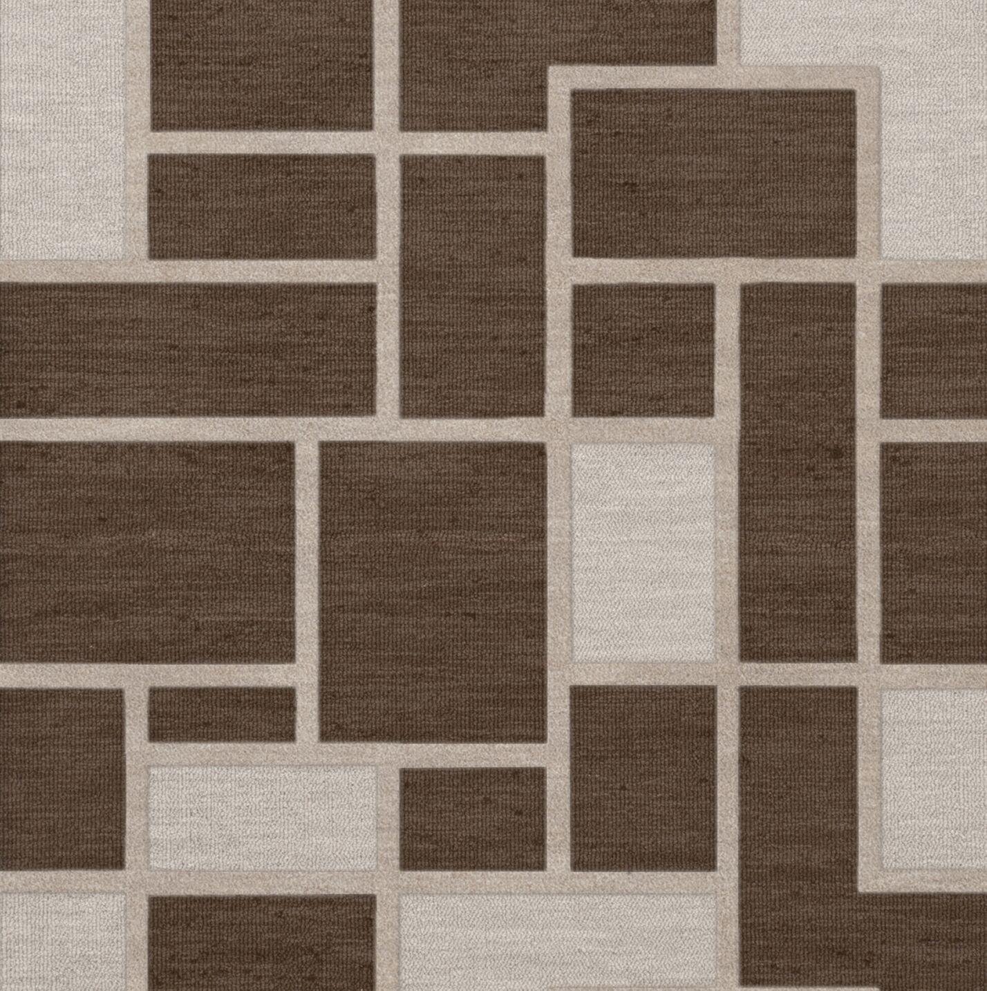Hallberg Wool Saddle Area Rug Rug Size: Square 10'