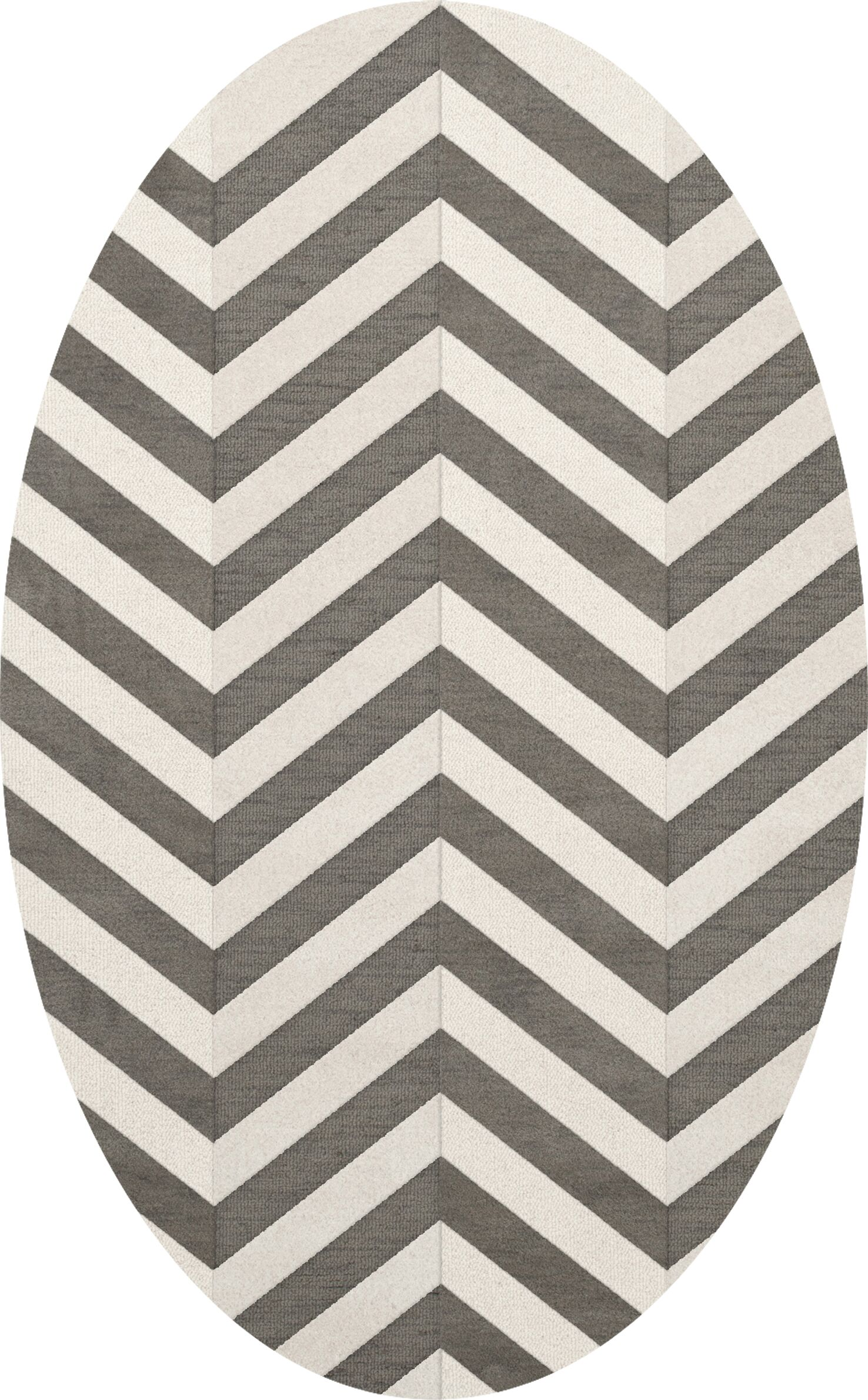 Shepardson Wool Quarry Area Rug Rug Size: Oval 4' x 6'