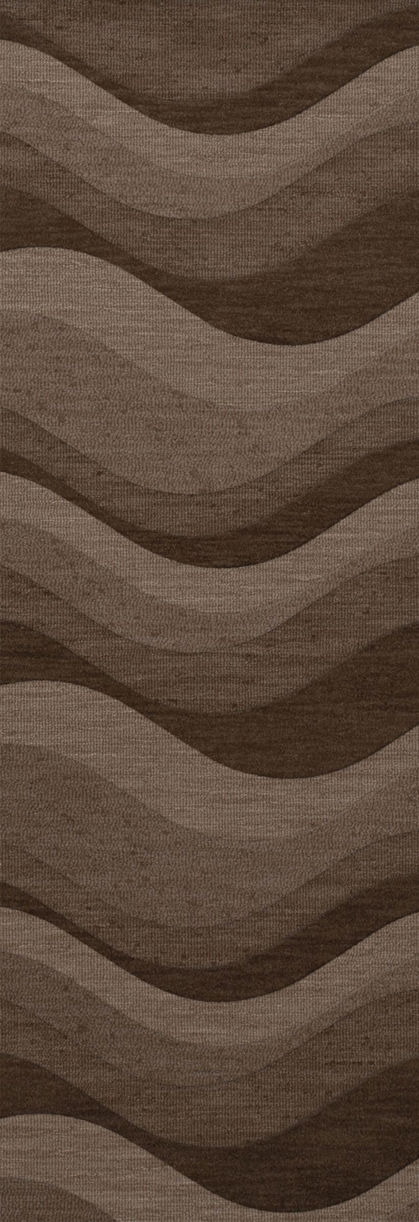 Haller Wool Chipmunk Area Rug Rug Size: Runner 2'6