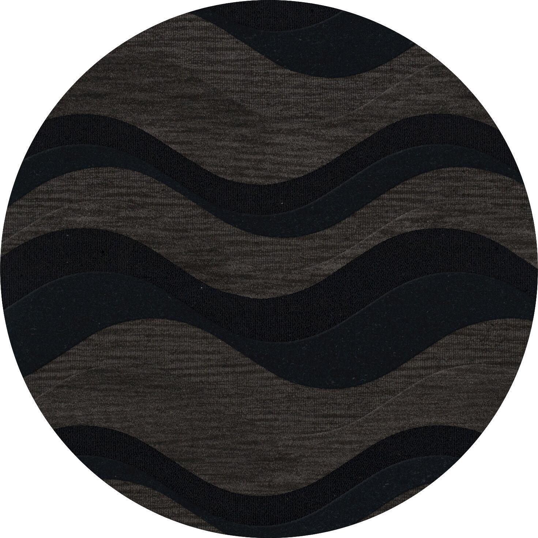 Hambrook Wool Shadow Area Rug Rug Size: Octagon 8'