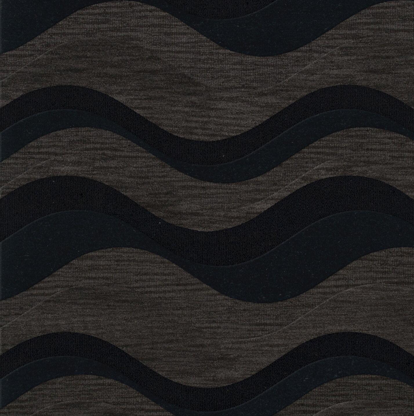 Hambrook Wool Shadow Area Rug Rug Size: Square 12'