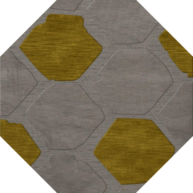 Harman Wool Flagstone Area Rug Rug Size: Octagon 10'
