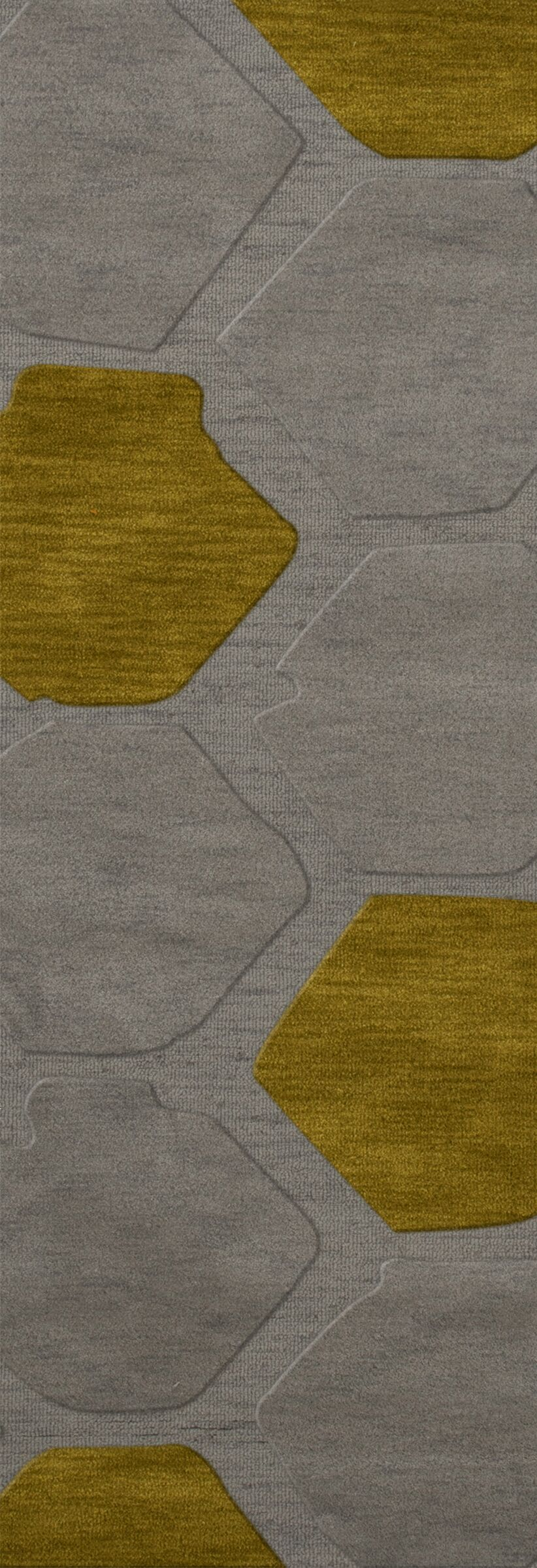 Harman Wool Flagstone Area Rug Rug Size: Runner 2'6