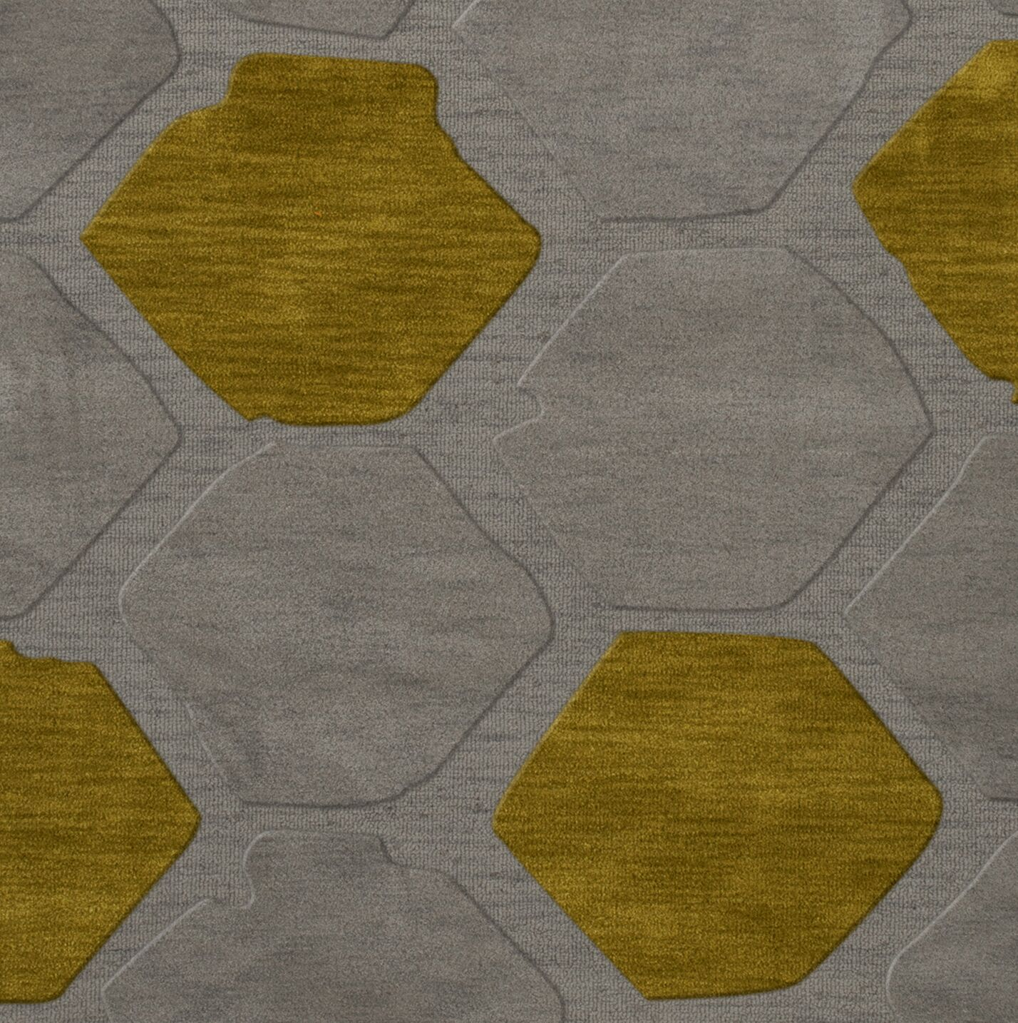 Harman Wool Flagstone Area Rug Rug Size: Square 8'