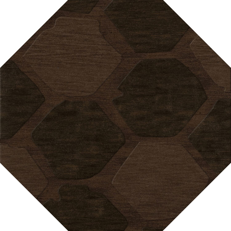 Harmonia Wool Nutmeg Area Rug Rug Size: Octagon 12'