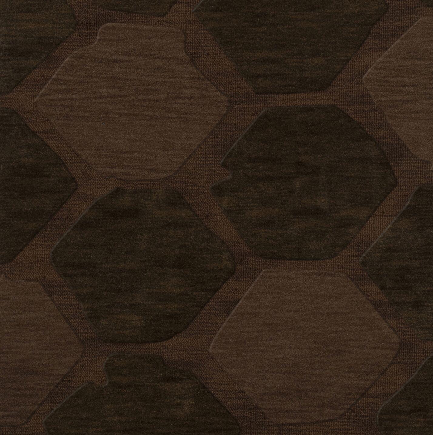 Harmonia Wool Nutmeg Area Rug Rug Size: Square 12'