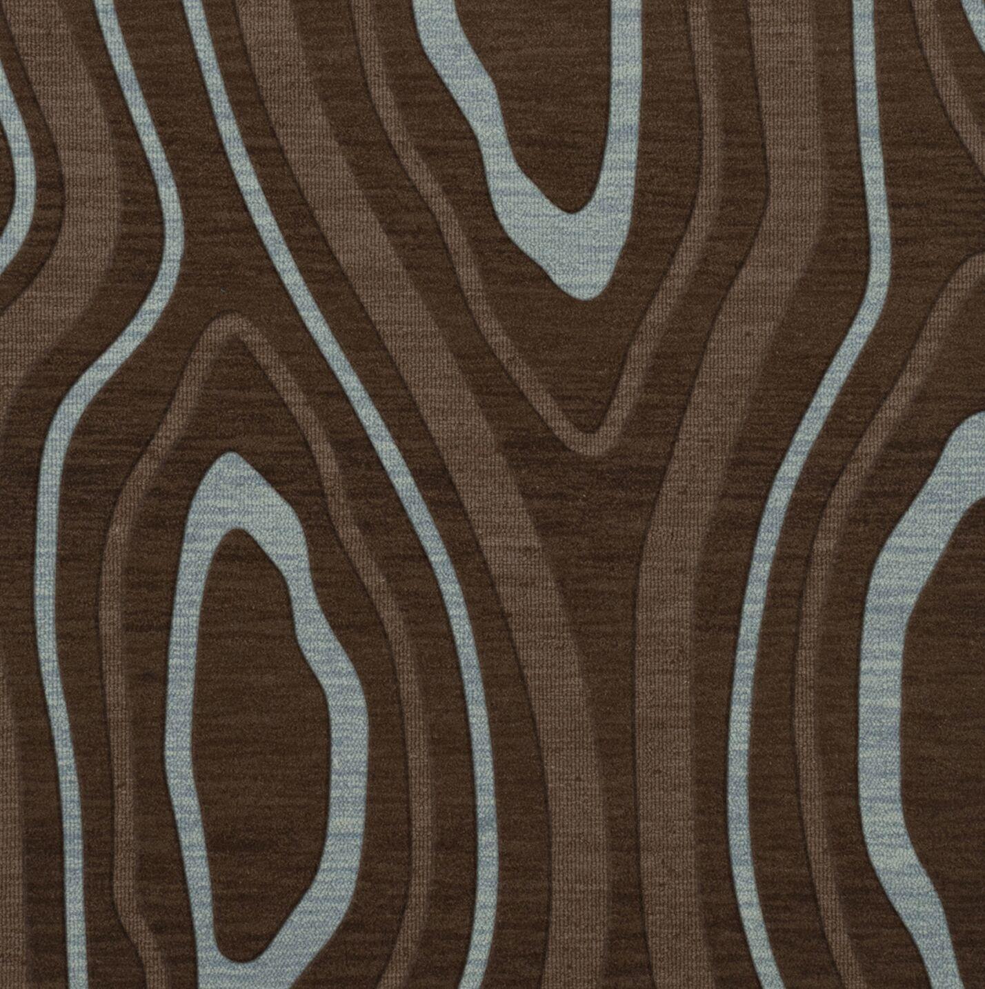 Sarahi Wool Cork Area Rug Rug Size: Square 8'